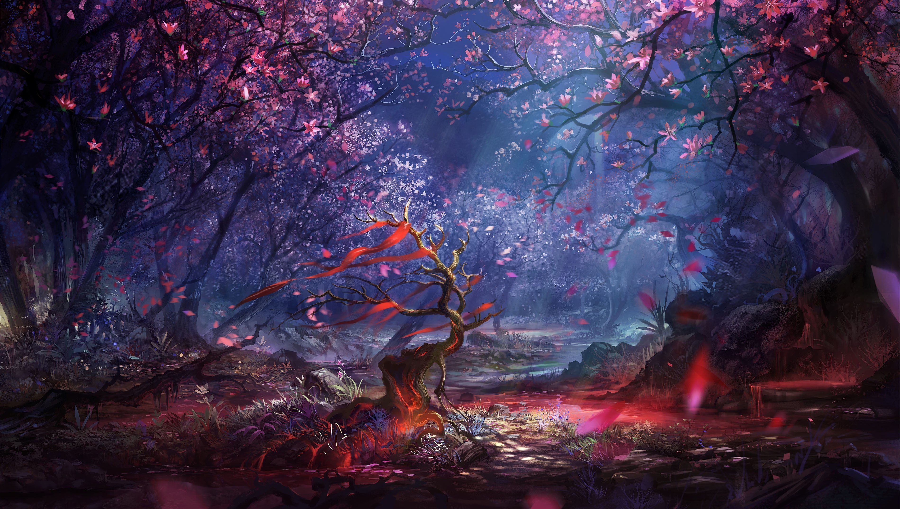 Wallpaper Magic Forest