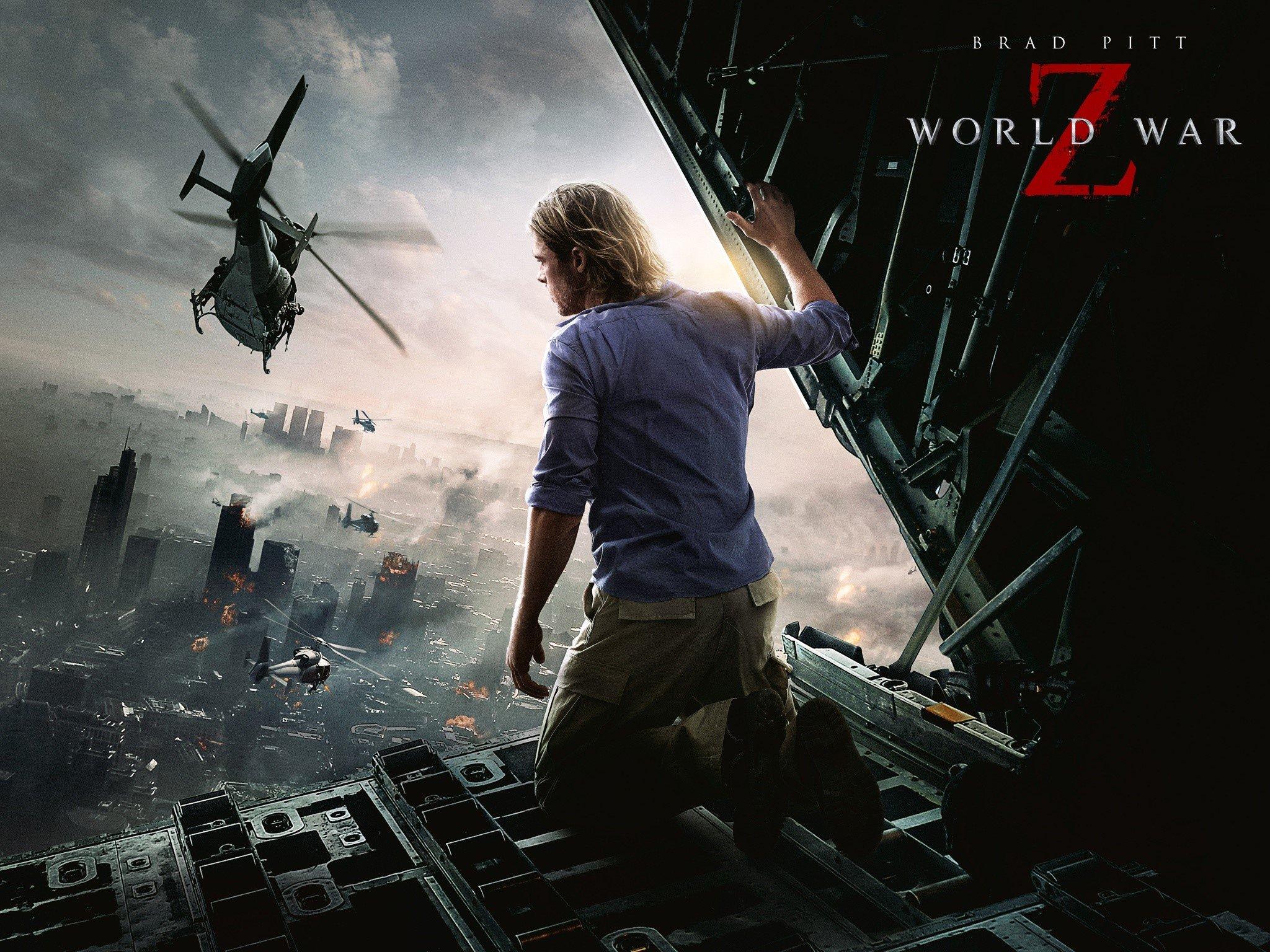 Wallpaper Brad Pitt para Guerra mundial Z Images