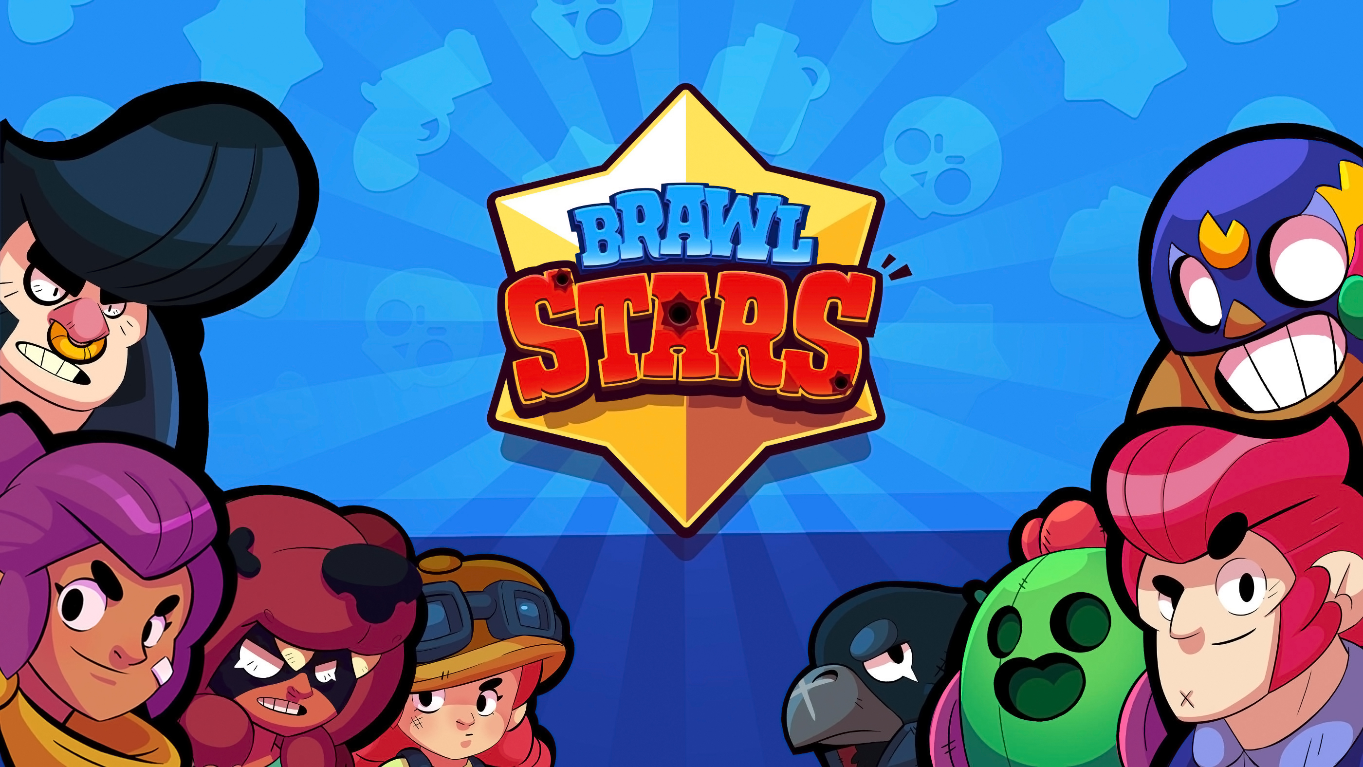 Fondos de pantalla Brawl Stars Logo y personajes