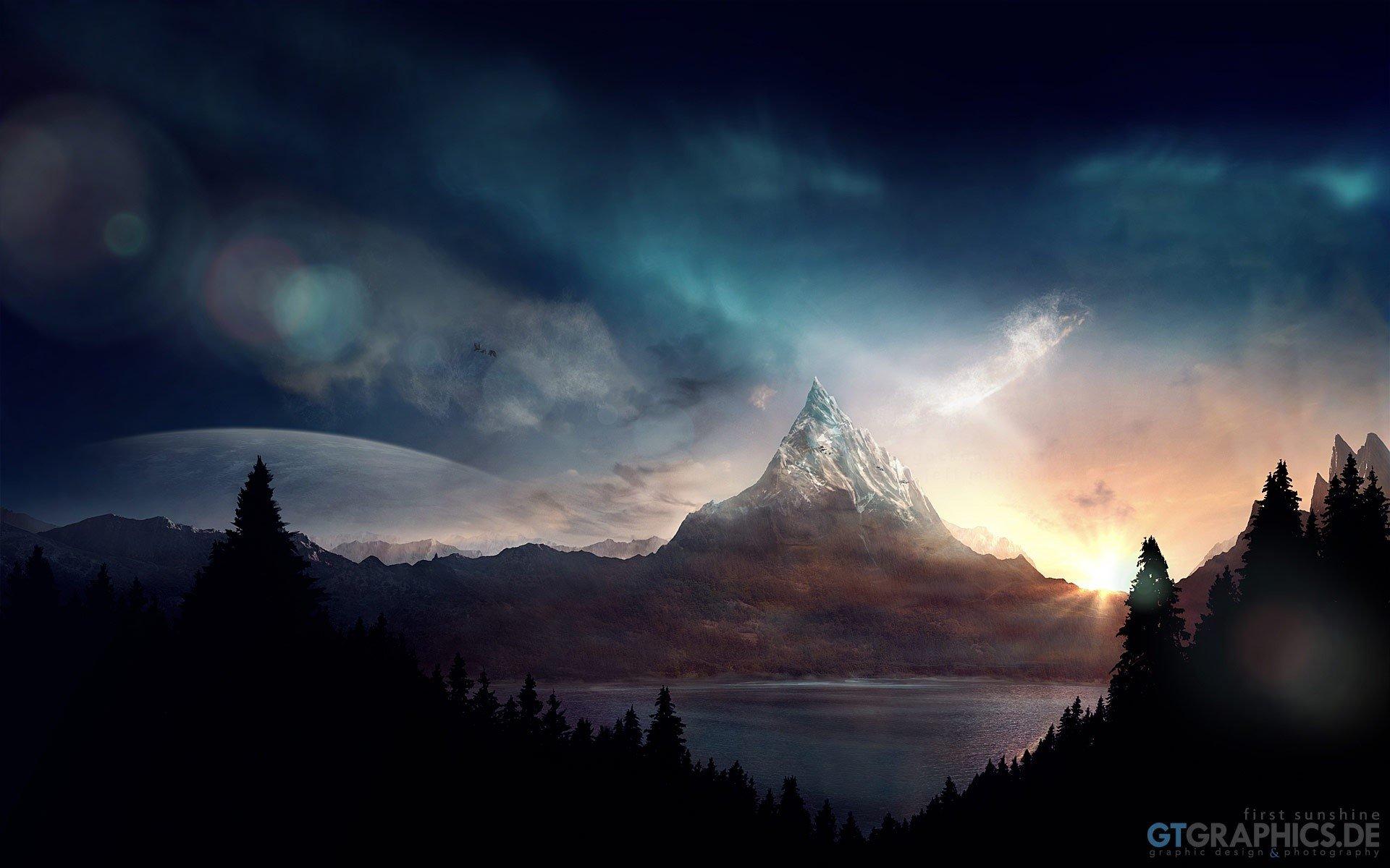 Fondo de pantalla de Brillo del sol Imágenes