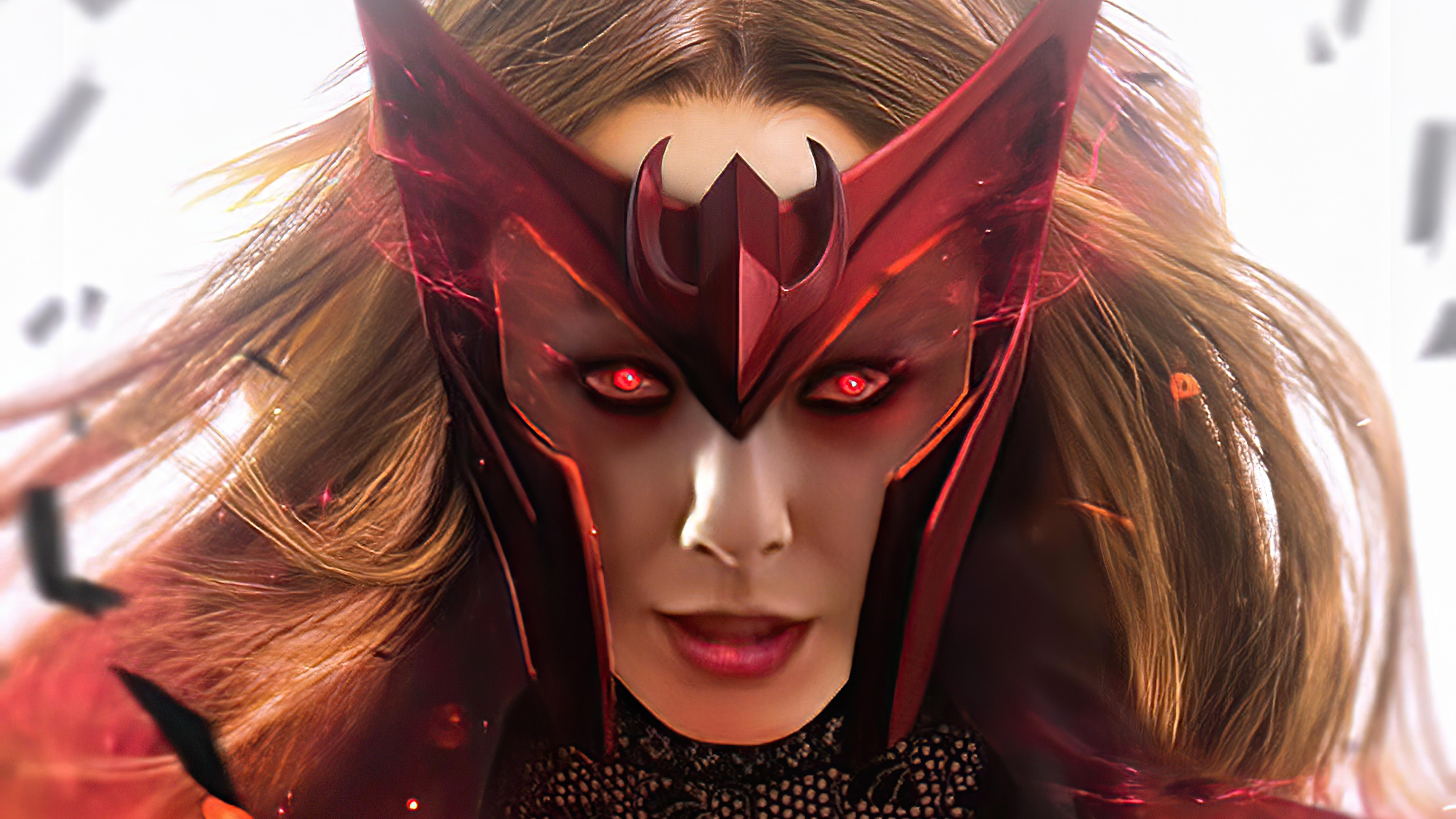 Wallpaper Scarlet Witch Wanda