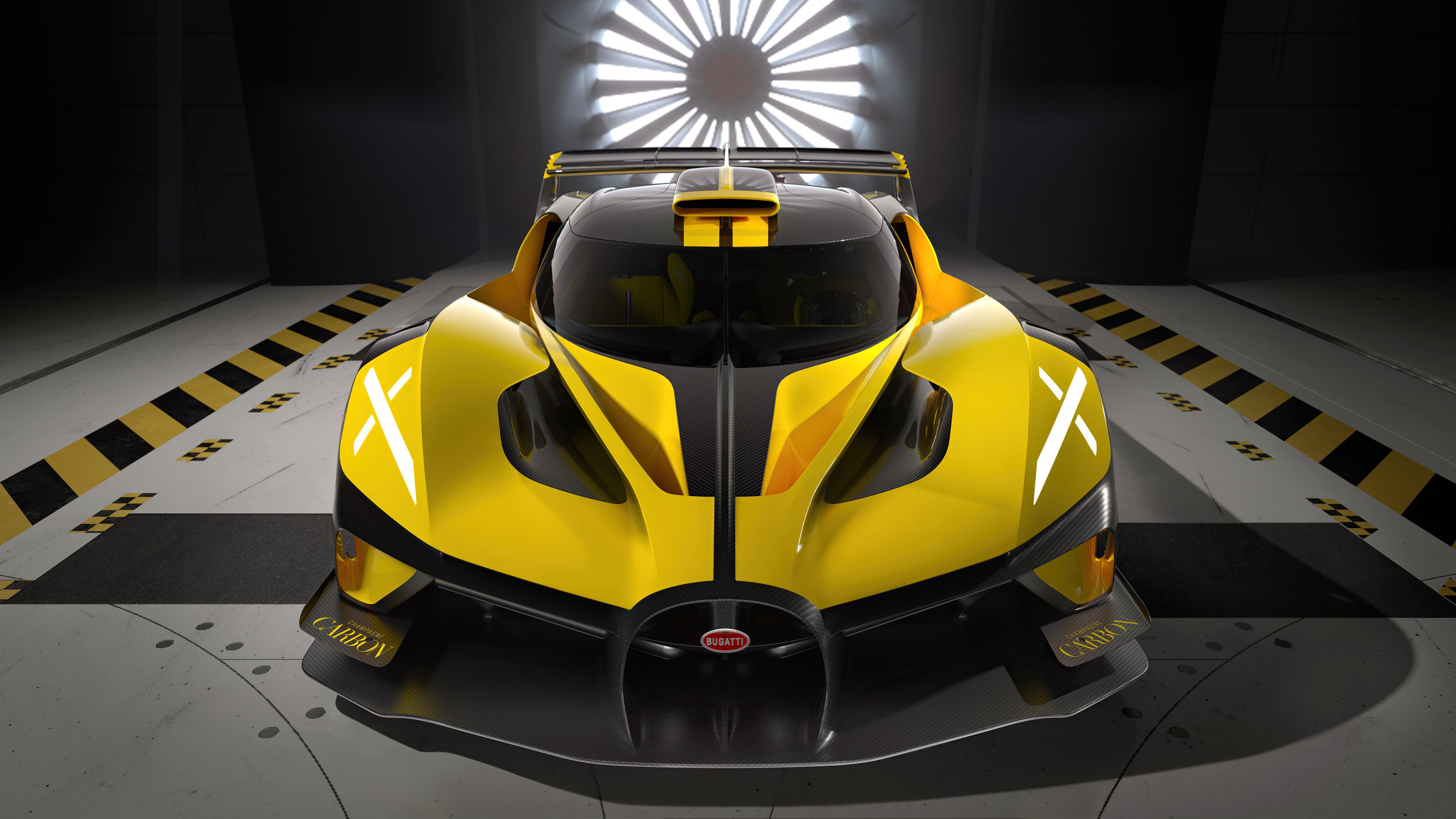 Wallpaper Bugatti Bolide