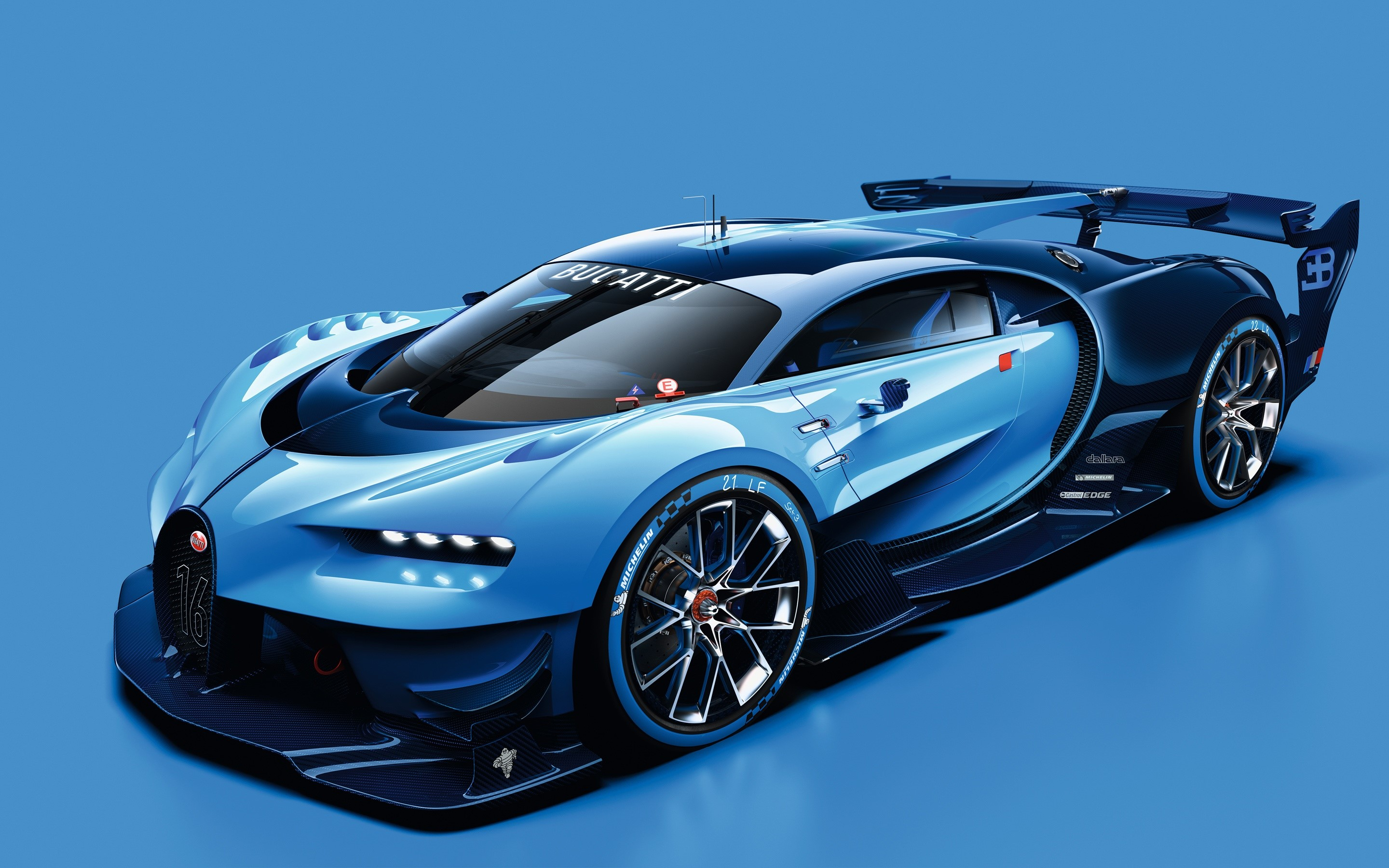 Wallpaper Bugatti Vision in Gran Turismo
