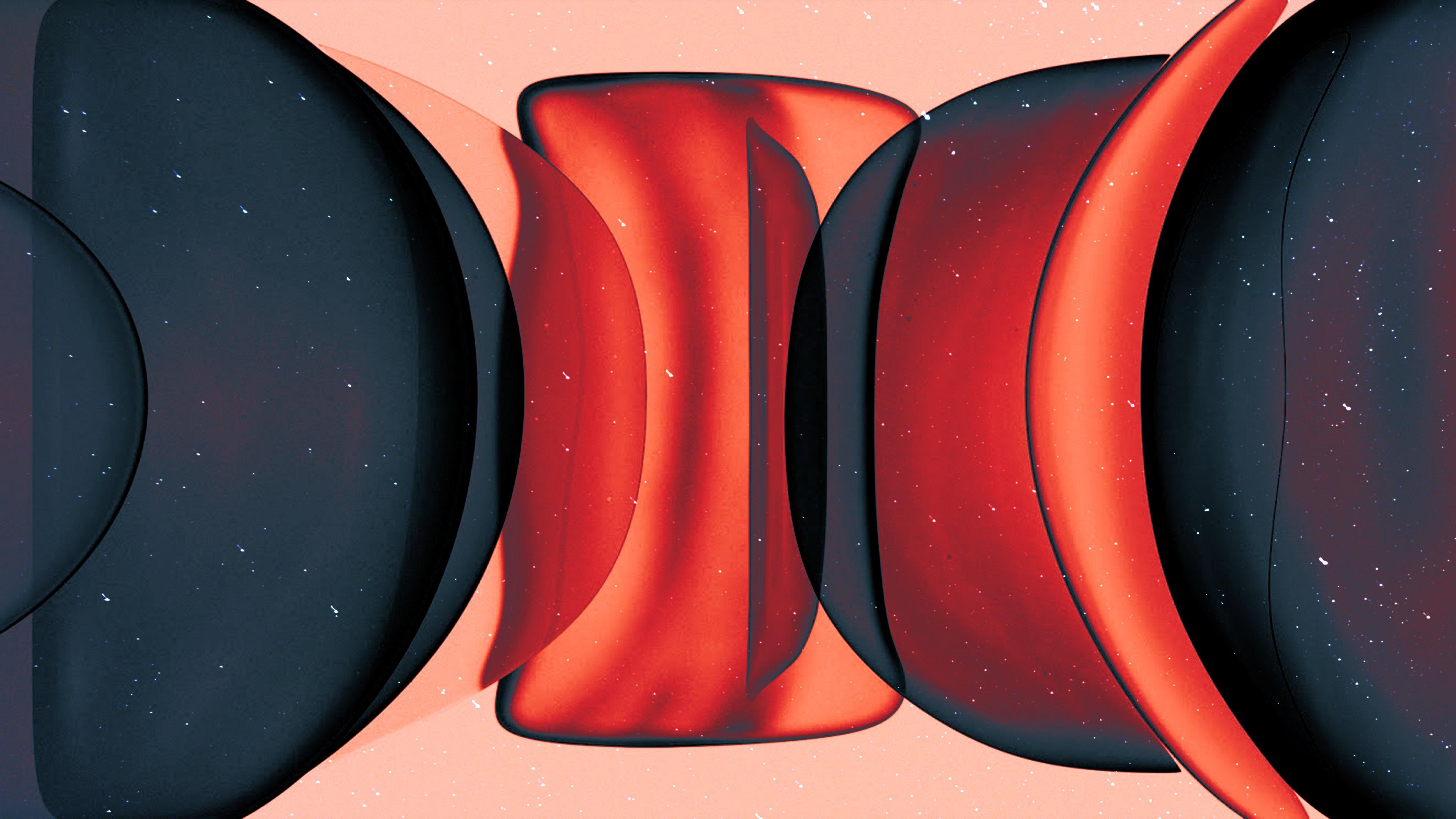 Fondos de pantalla Burbujas abstractas