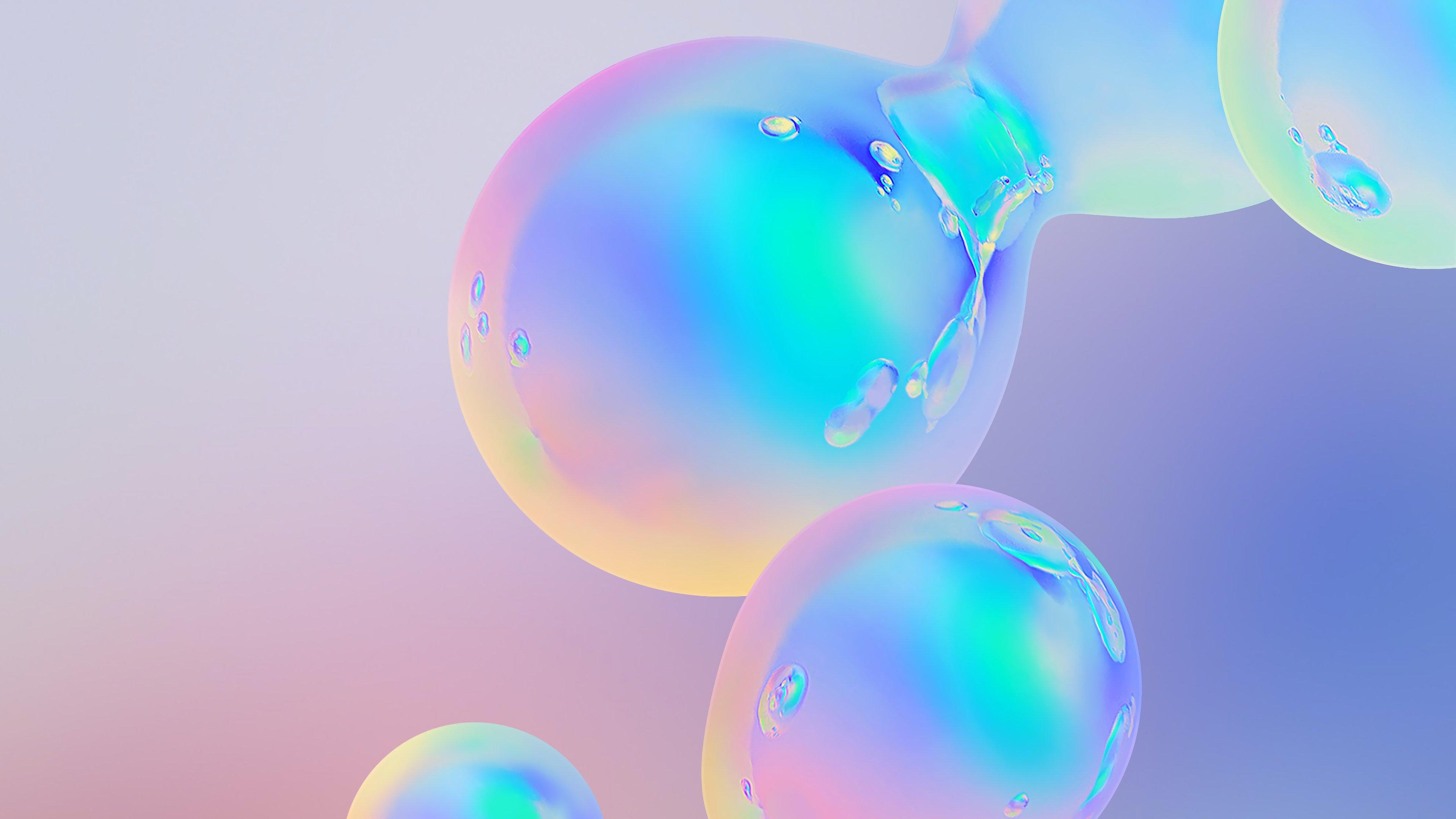 Fondos de pantalla Burbujas abstractas de holograma