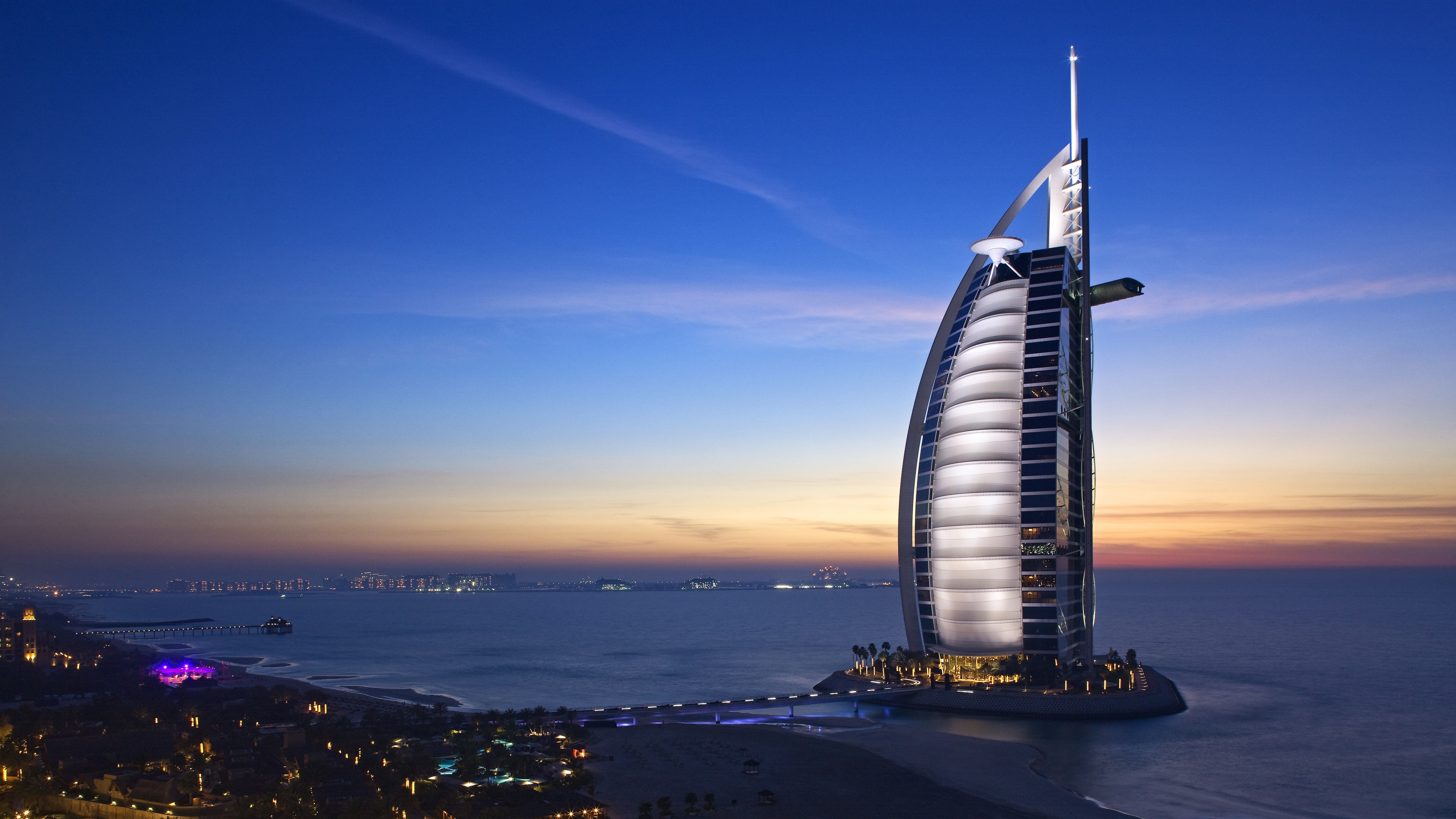 Fondos de pantalla Burj Al Arab Dubai Cities United Arab Emirates