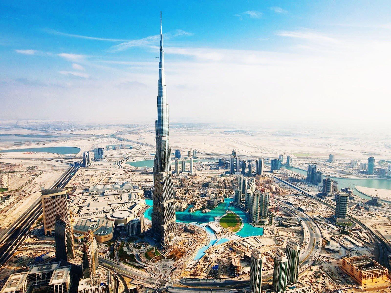 Fondos de pantalla Burj Khalifa Aka Burj en Dubai