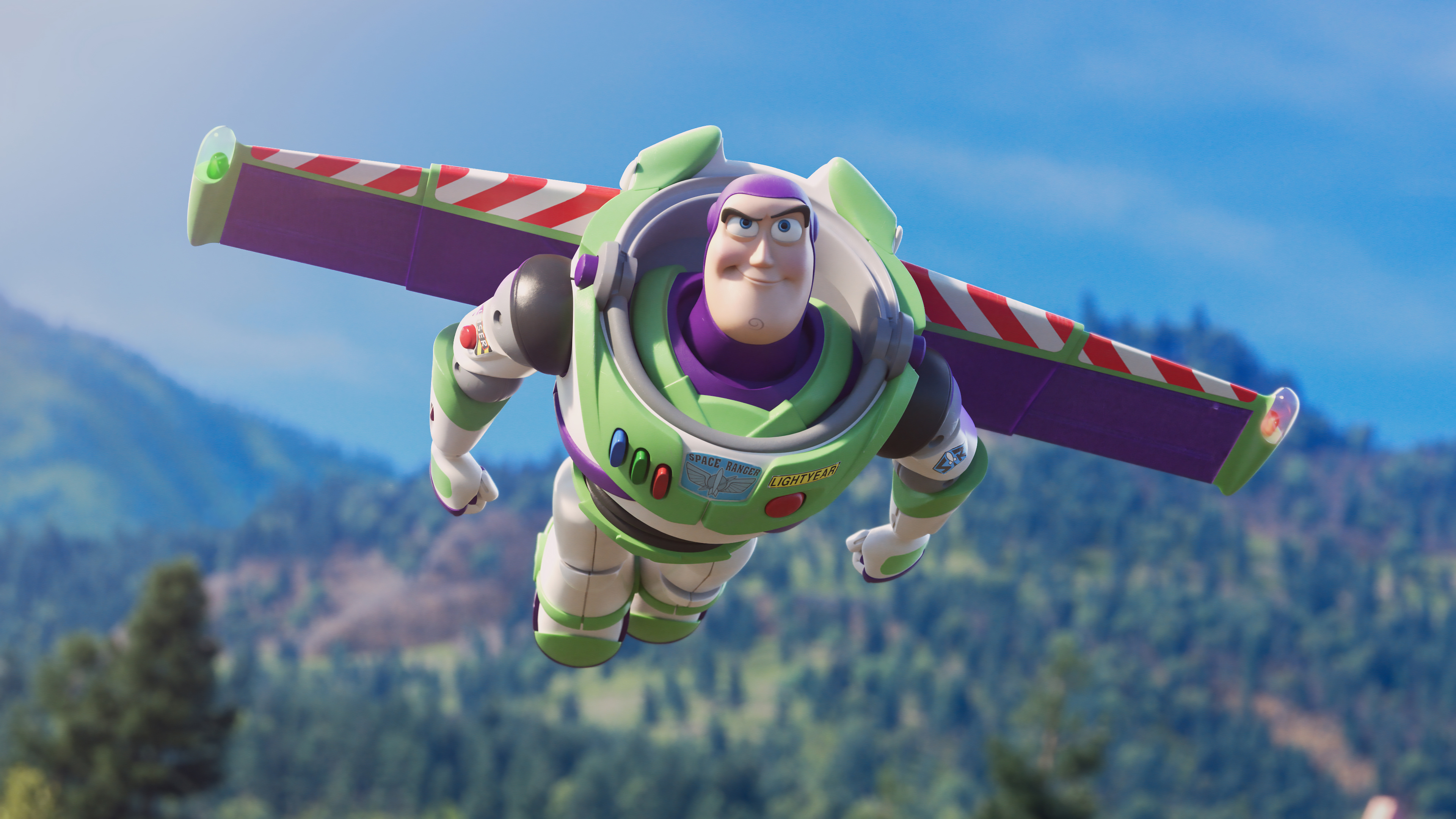 Buzz Lightyear Flying Toy Story 4 Wallpaper 4k Ultra Hd Id3327
