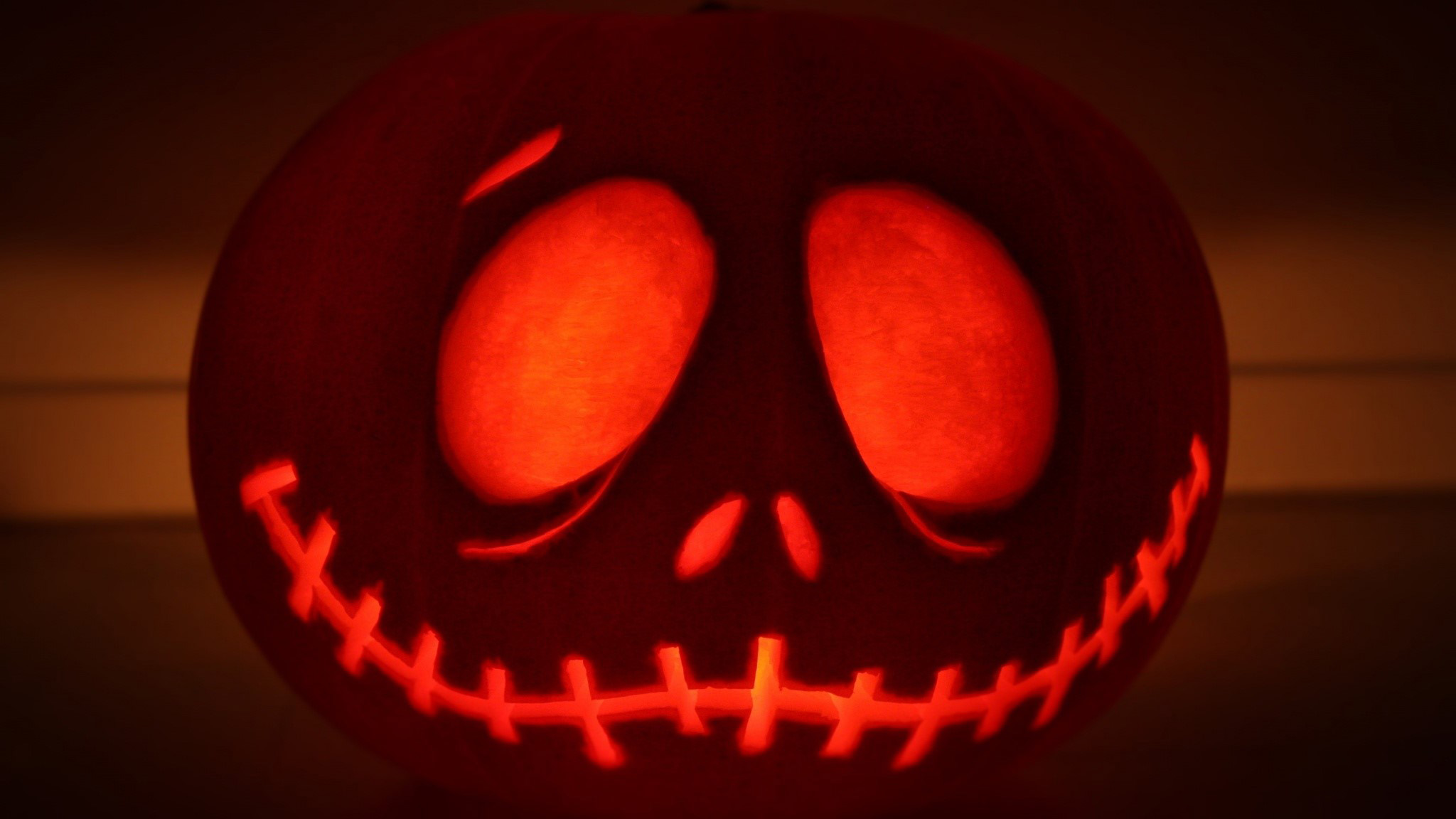 Wallpaper Pumpkin Jack Skellington