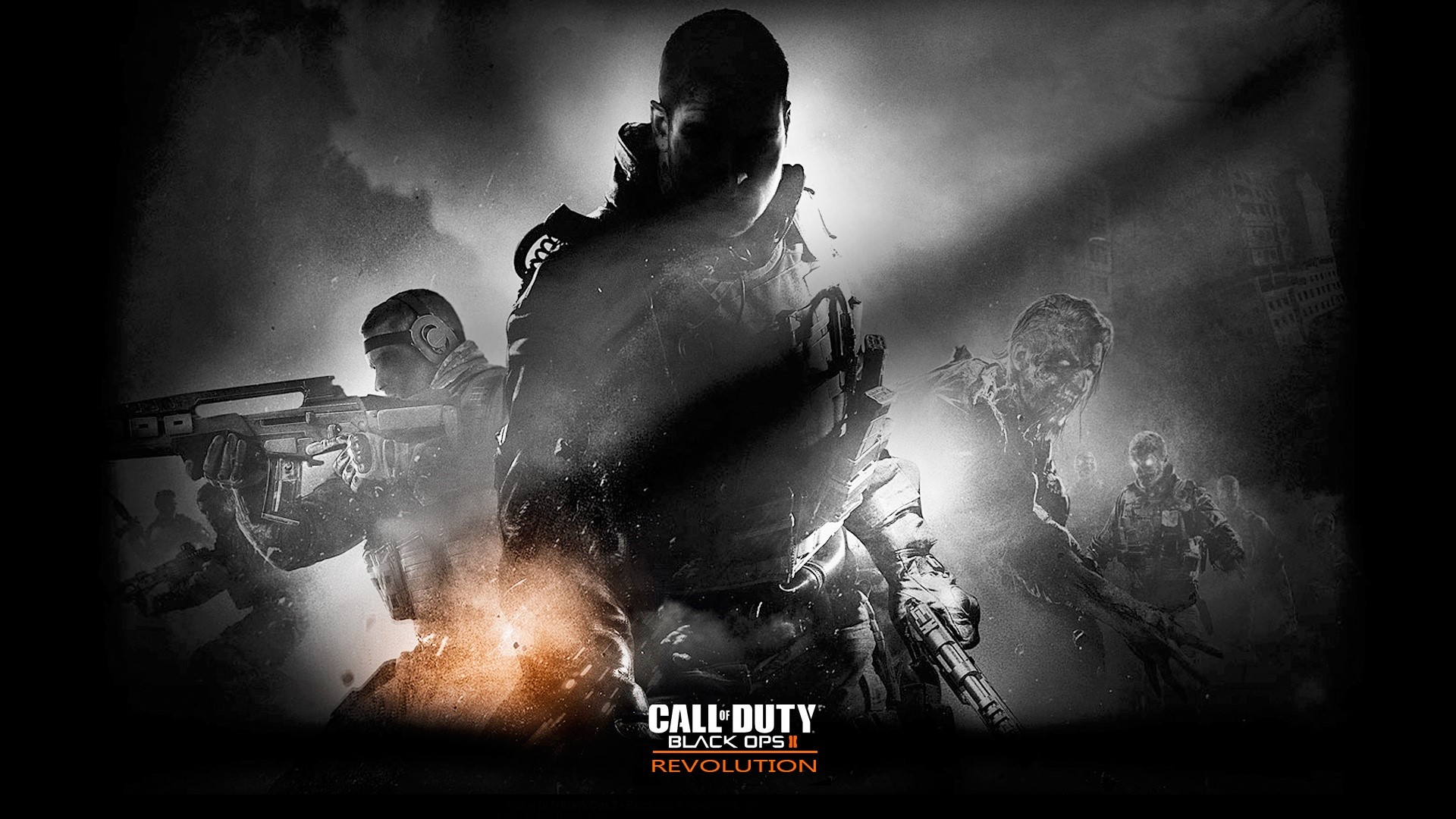 Fondo de pantalla de Call of Duty Black Ops 2 Revolution Imágenes