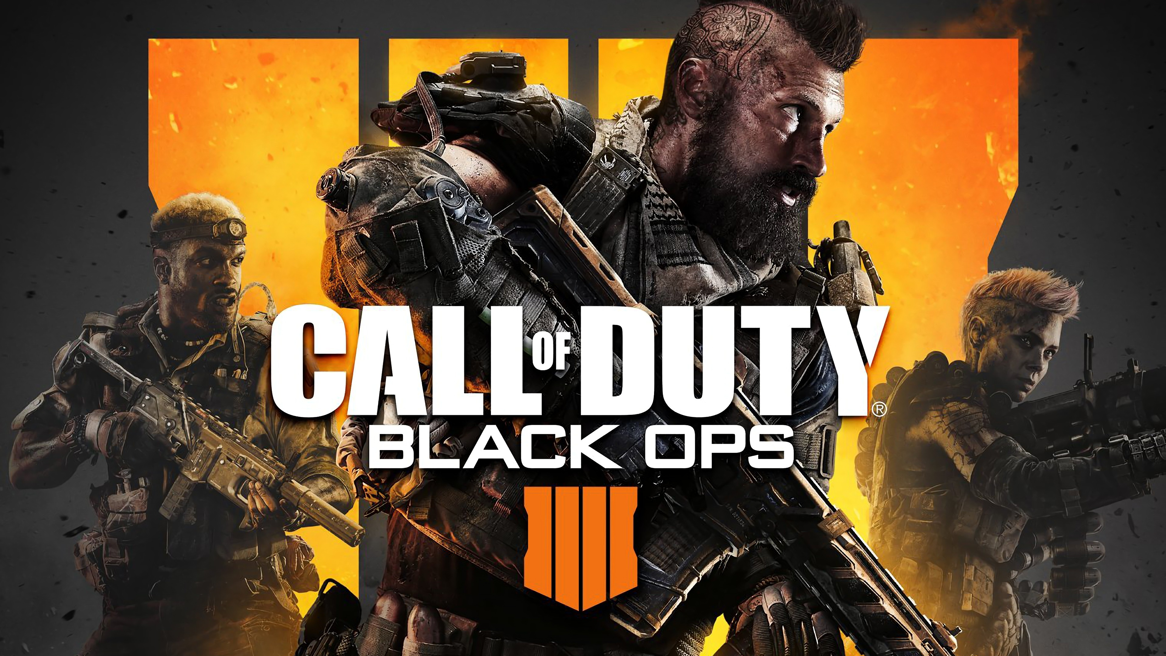 Wallpaper Call of Duty Black Ops 4 Poster