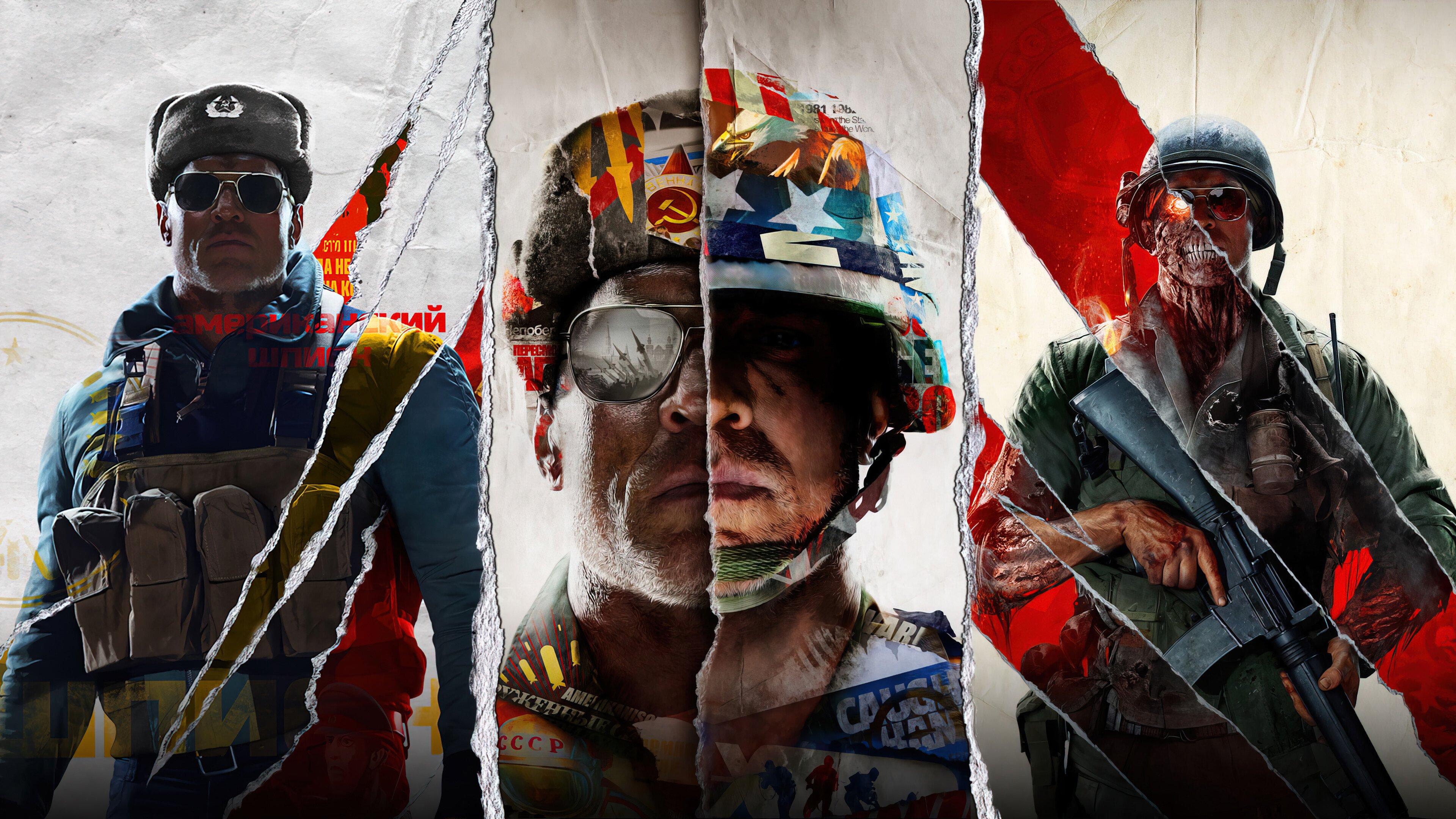 Fondos de pantalla Call of Duty Black Ops Cold War 2021
