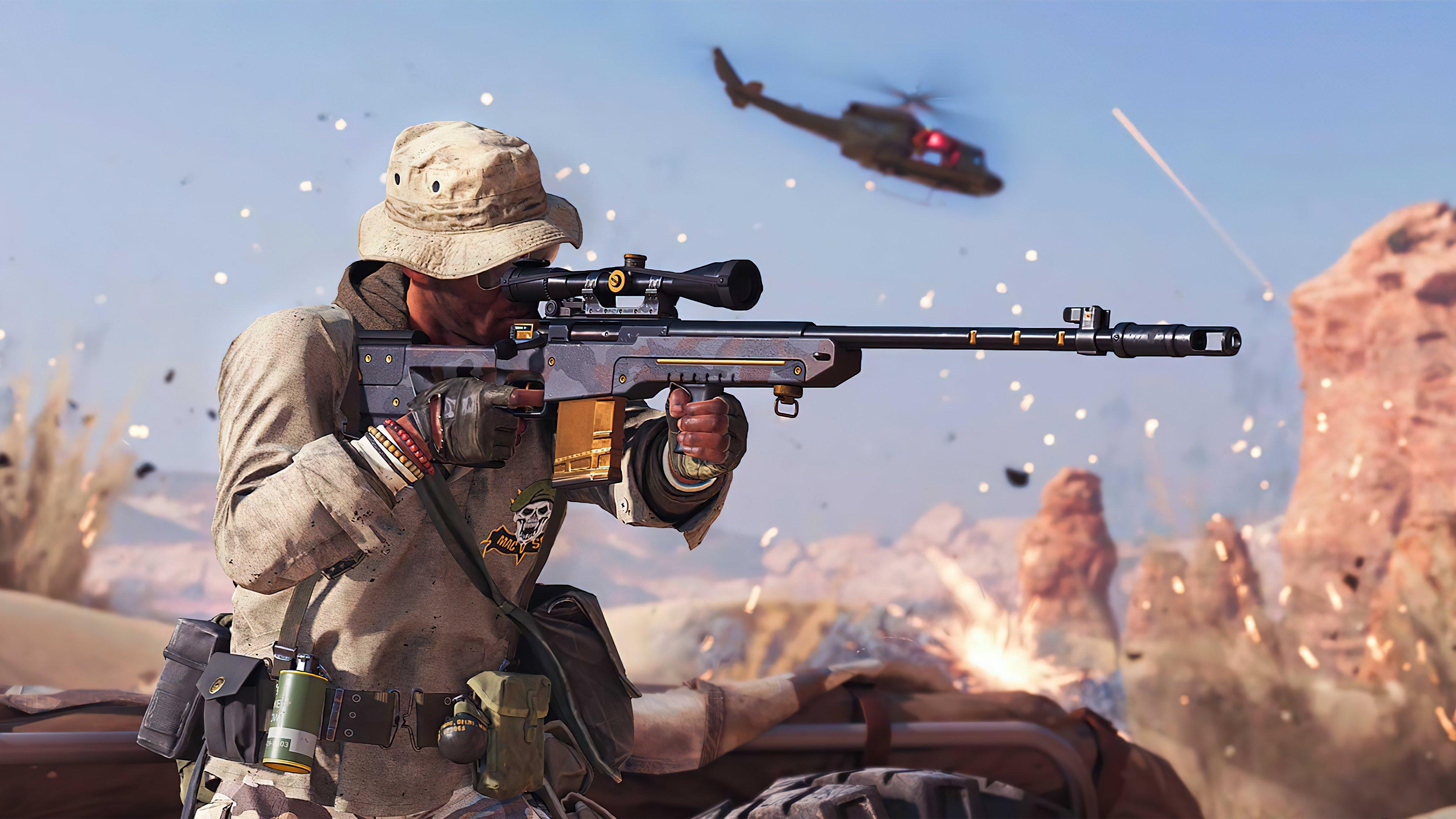 Fondos de pantalla Call of Duty Black Ops Cold War Sniper