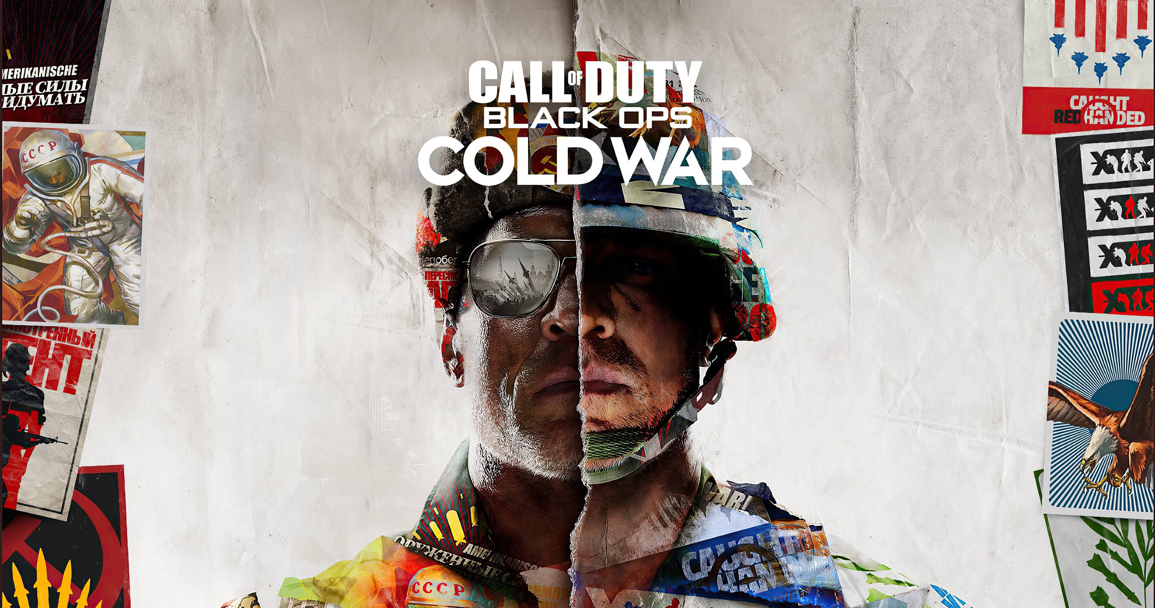 Fondos de pantalla Call of Duty Blacks Ops Cold War Poster