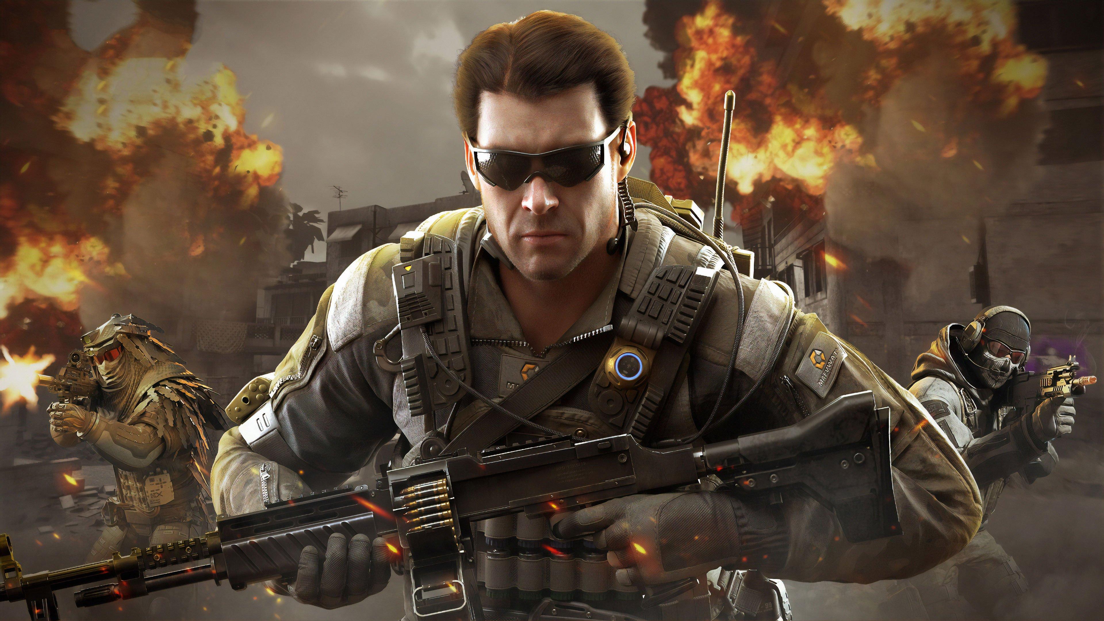 Call Of Duty Mobile Wallpaper 4k Ultra Hd Id 4008