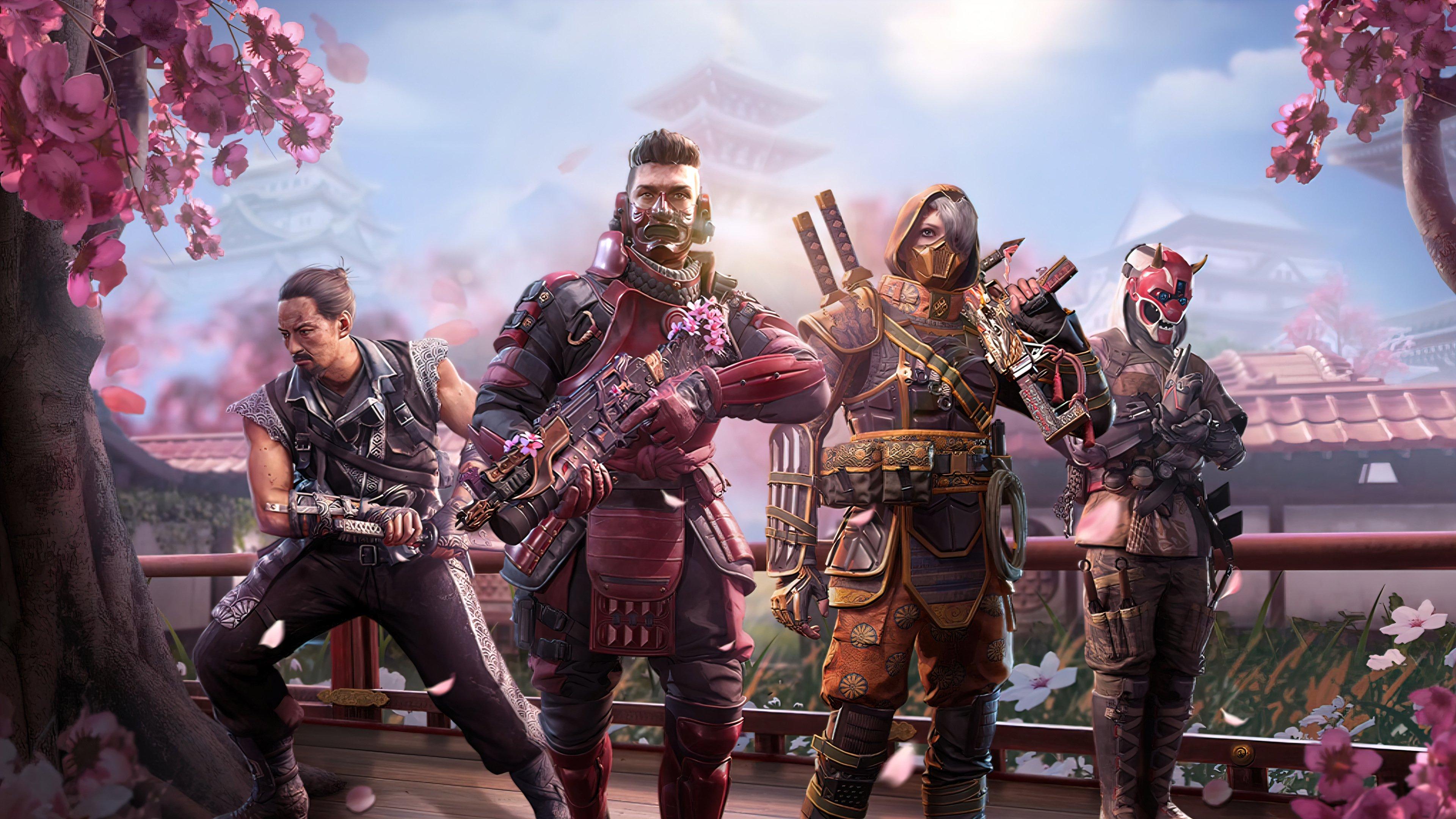 Fondos de pantalla Call of Duty Mobile Samurais Skin