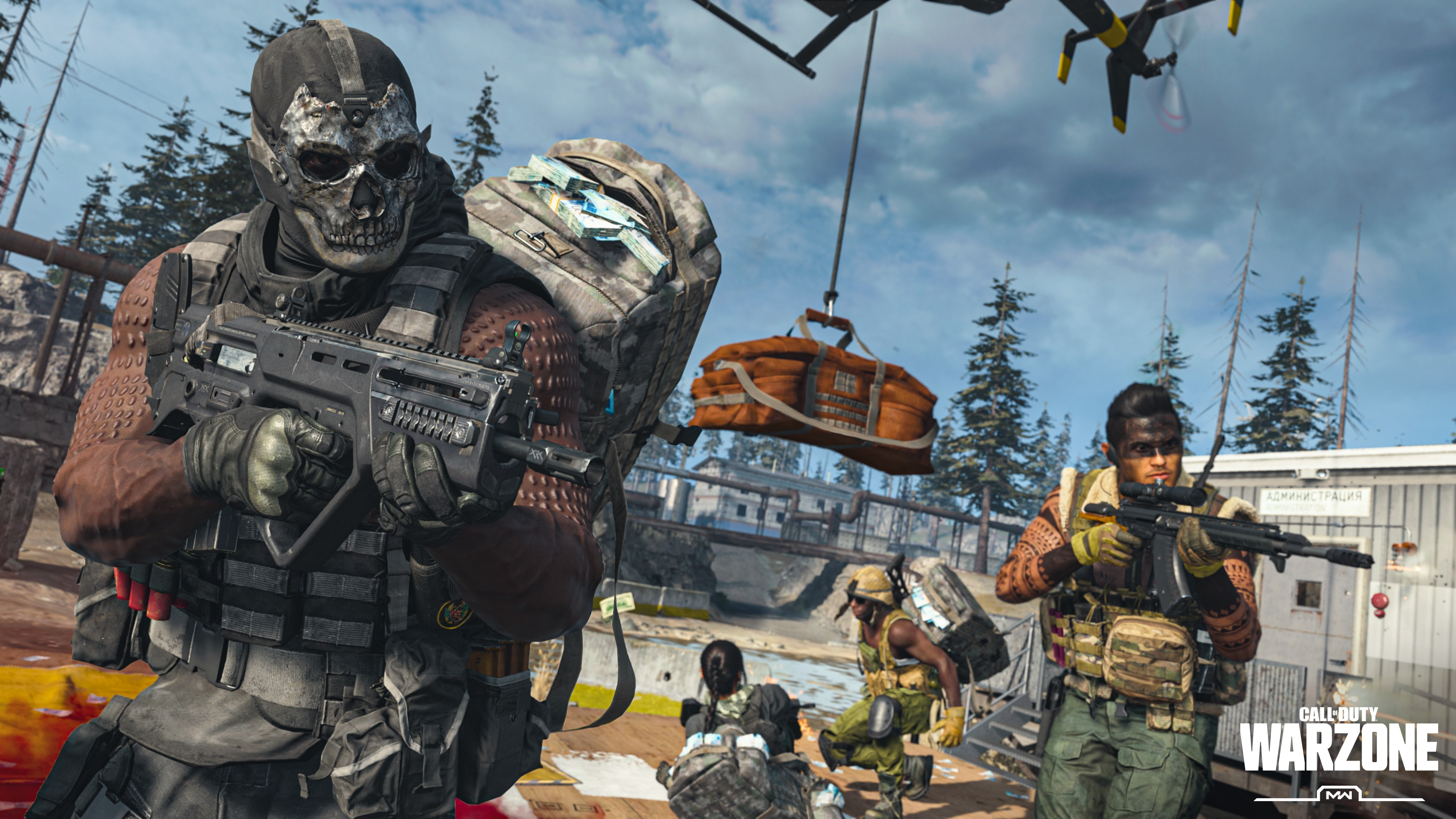 Call of Duty Warzone Squad Wallpaper 4k Ultra HD ID:5040