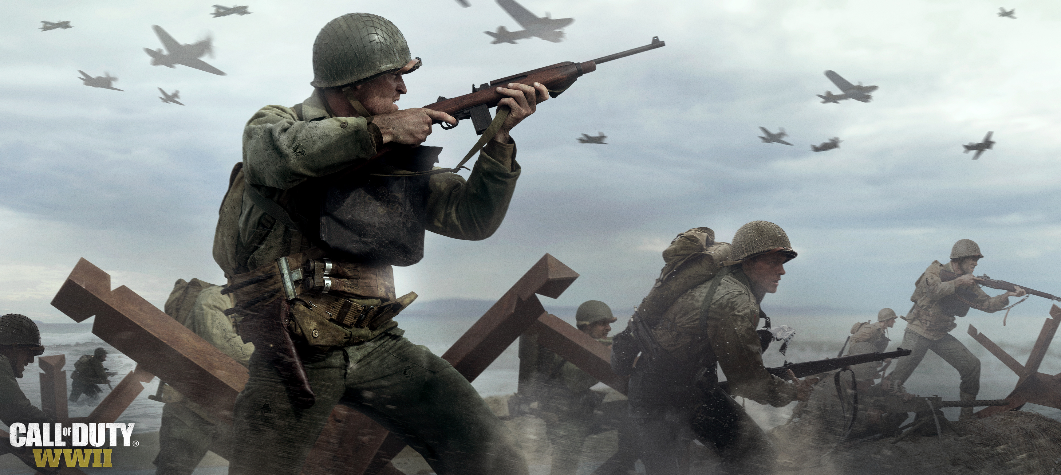 Wallpaper Call Of Duty WW2