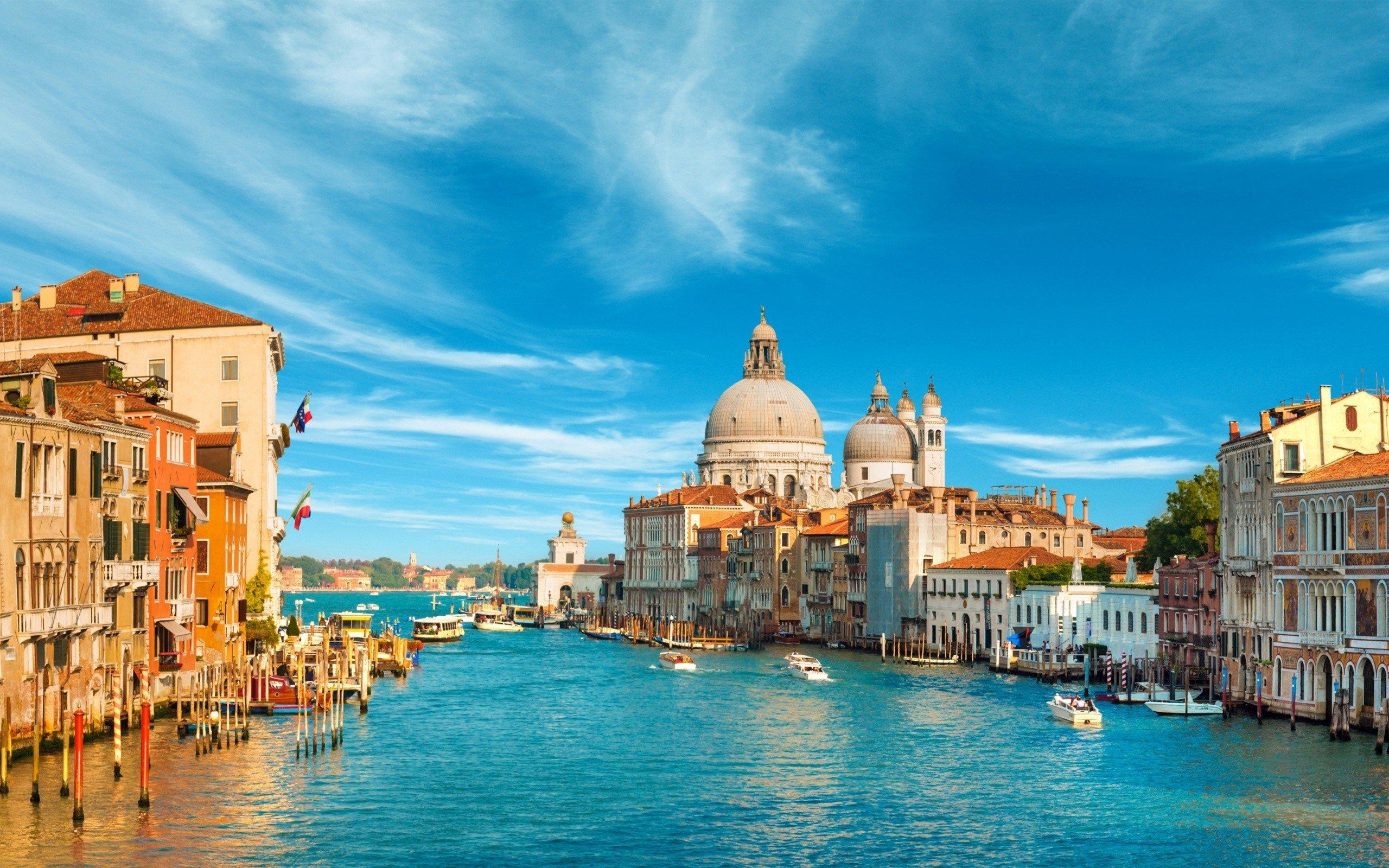 Wallpaper Canal en Venicia Italia Images