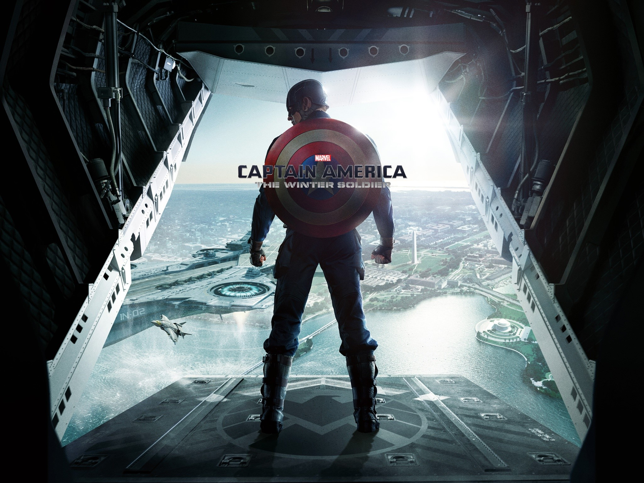 Wallpaper Captain America The winter soldier