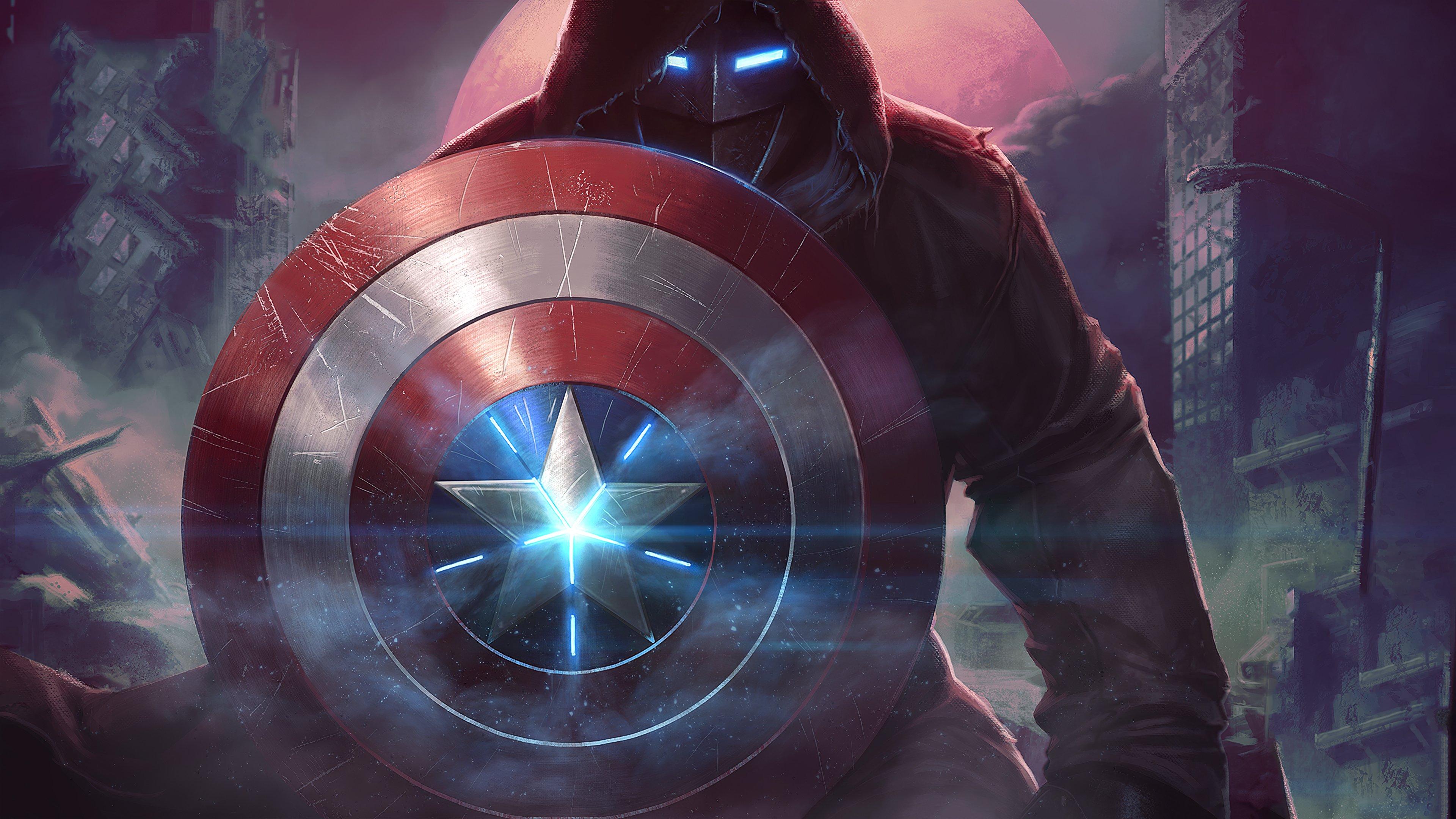 Fondos de pantalla Capitán America en Contest of Champions