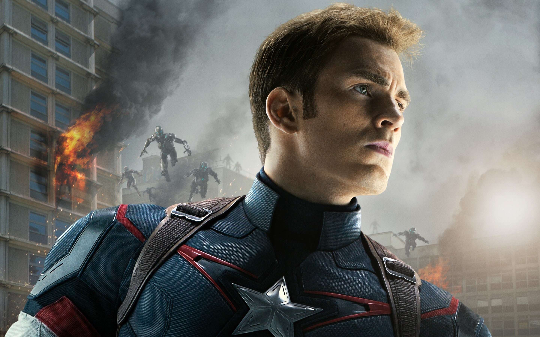Wallpaper Captain America in The Avengers Era de Ultron