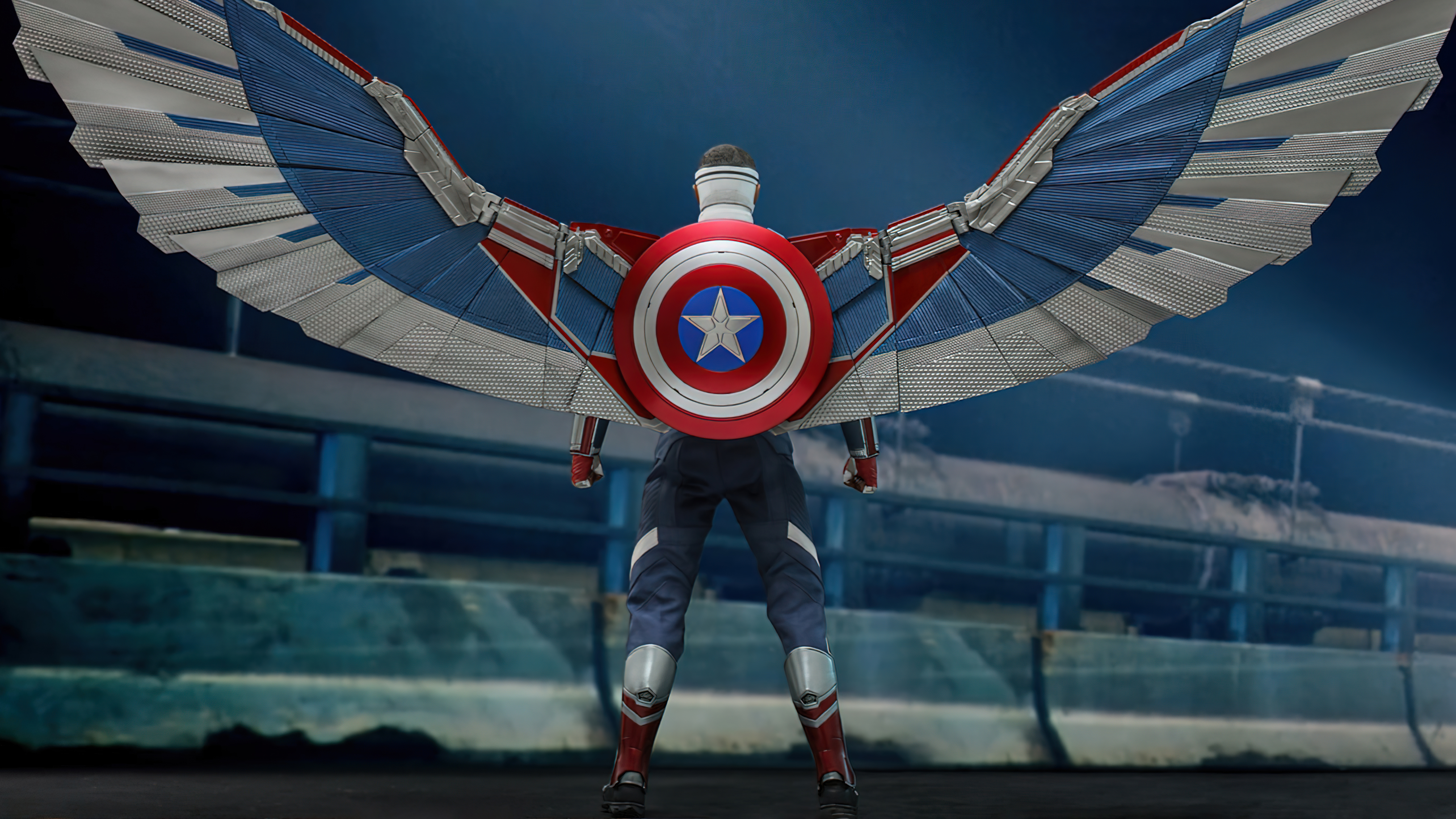 Fondos de pantalla Capitan America Falcon y el soldado de invierno