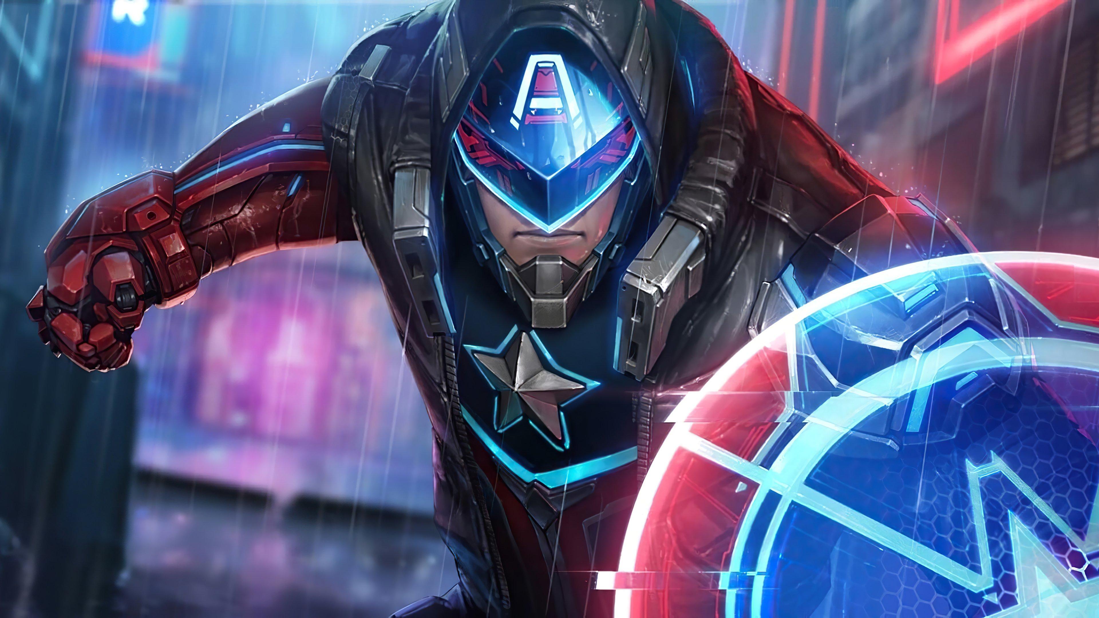 Fondos de pantalla Capitan America Future Fight