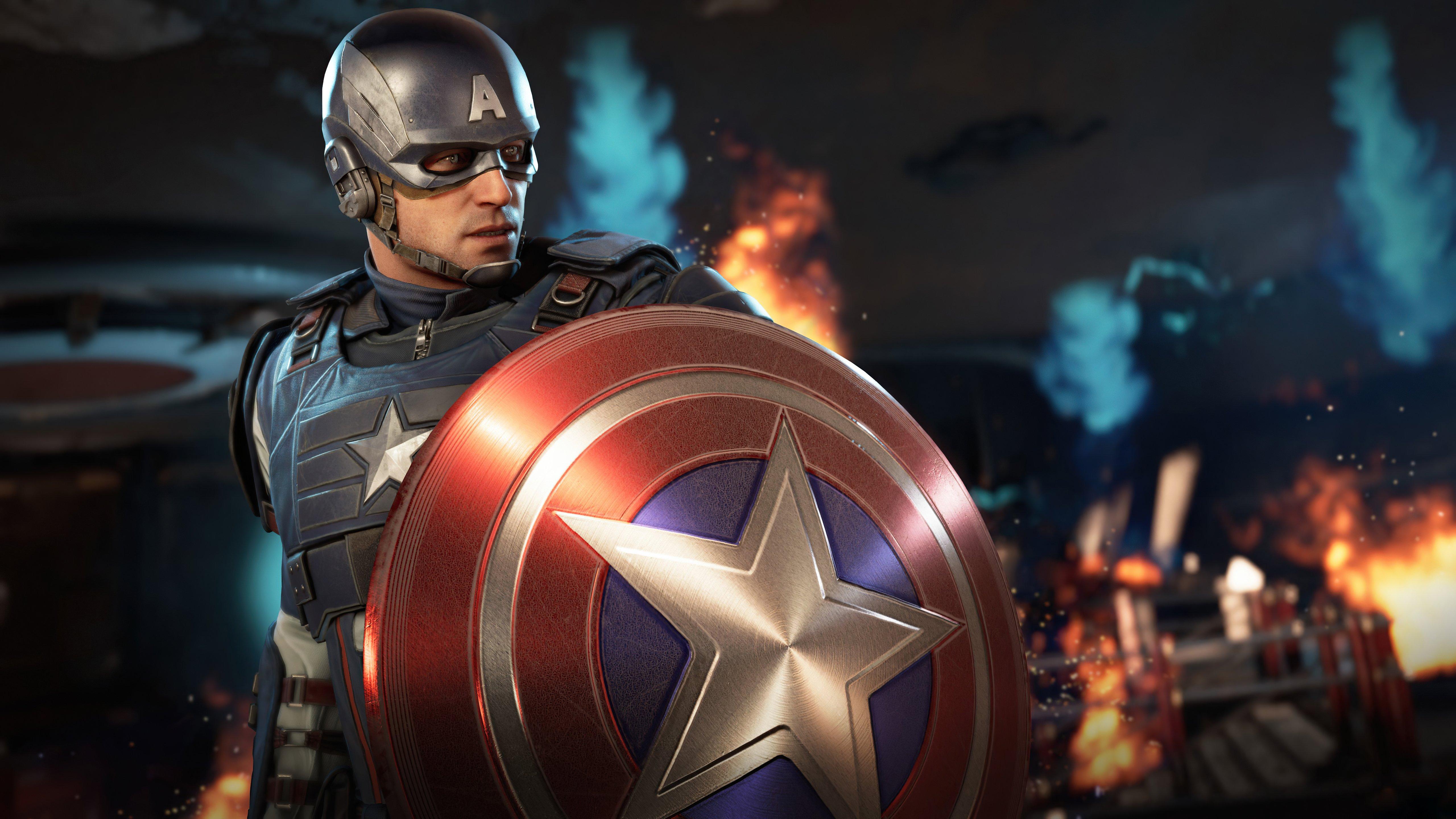 Wallpaper Captain America Avengers