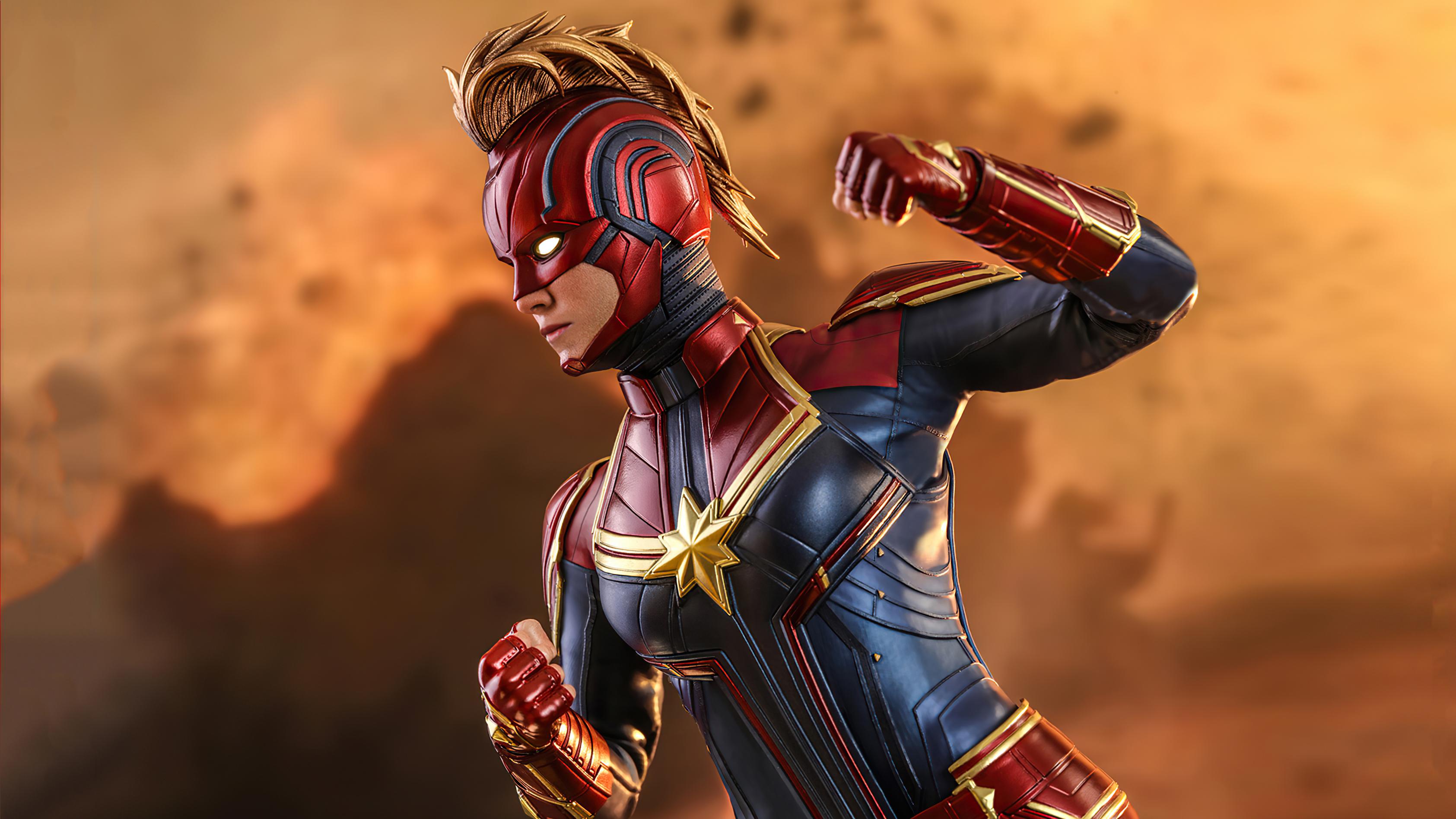 Wallpaper Captain Marvel 2020