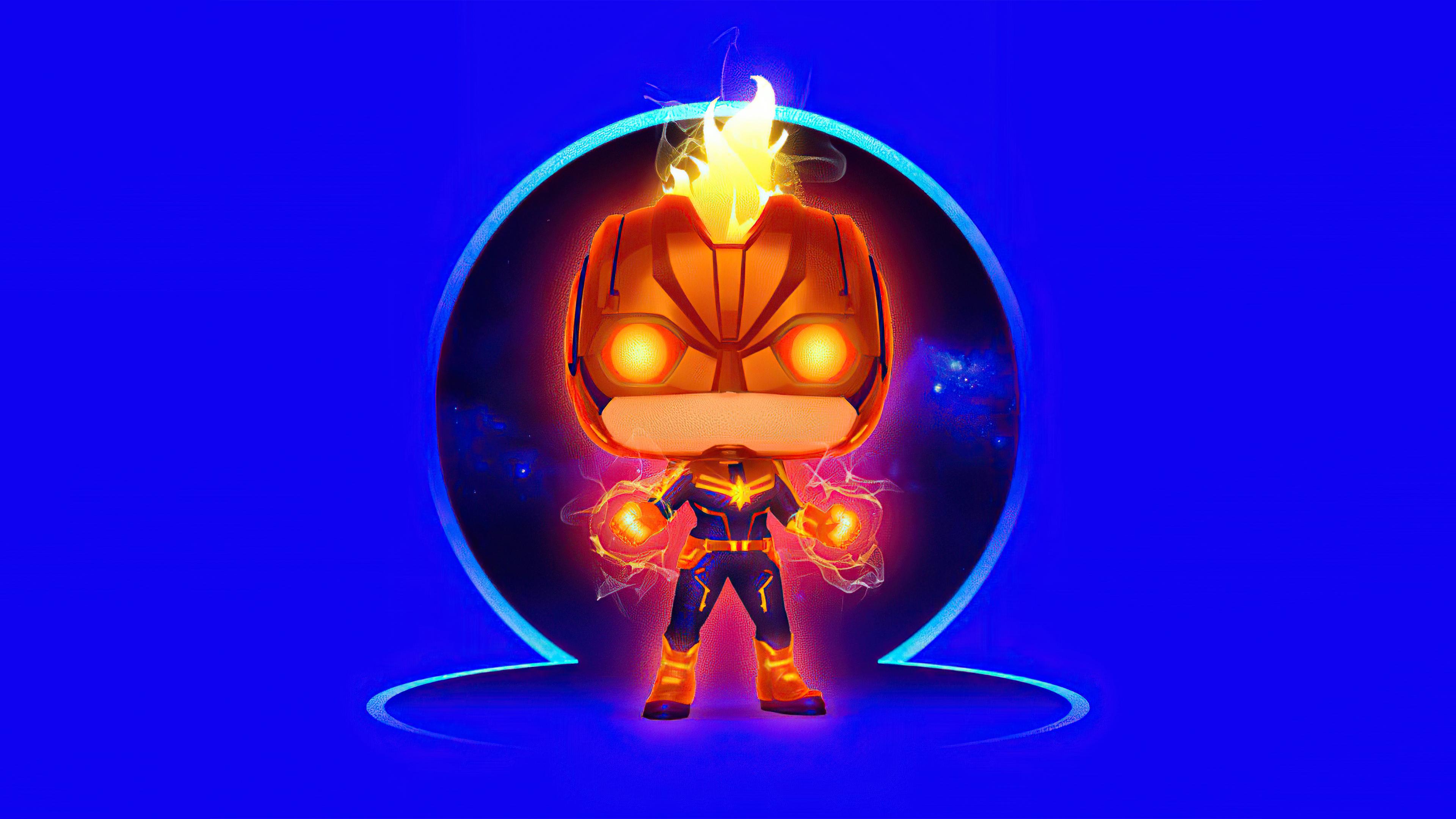 Fondos de pantalla Capitana Marvel Arte Digital