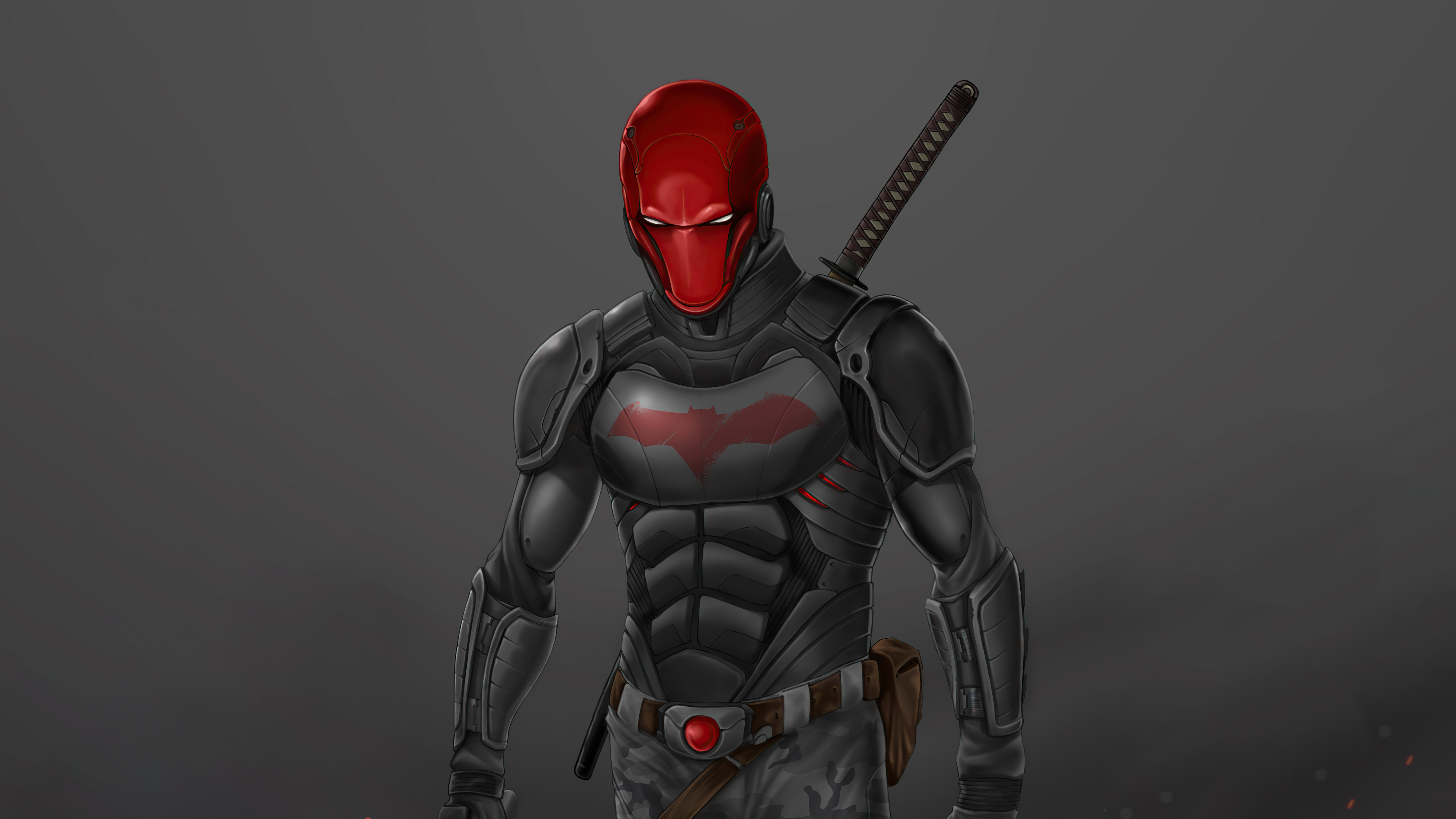 Wallpaper Red Hood angry
