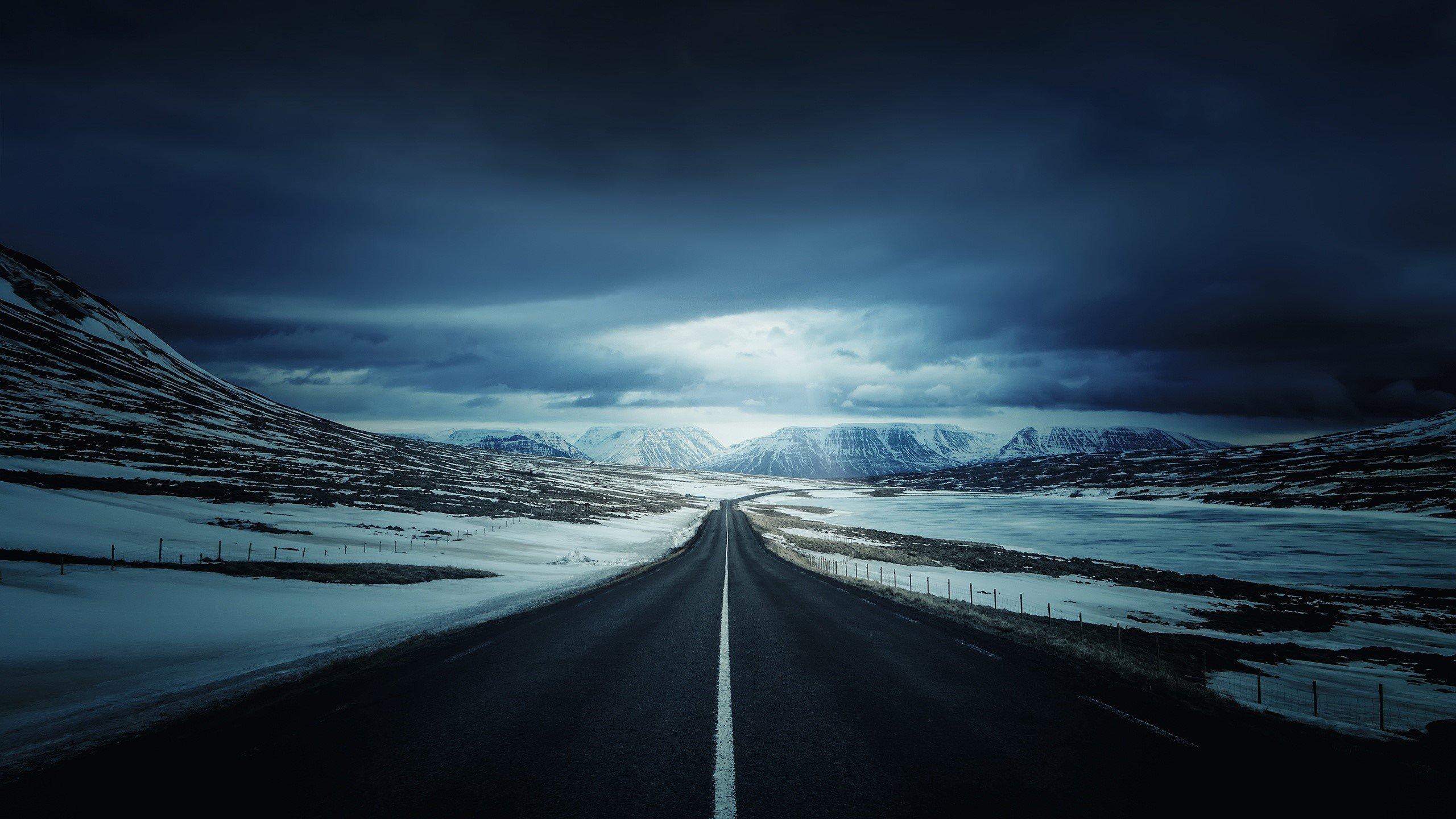 Wallpaper Ice road
