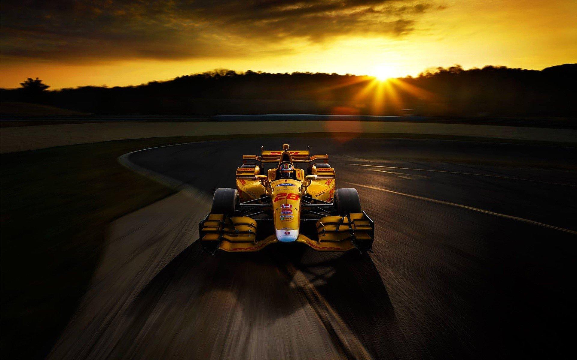Wallpaper Honda F1 race car