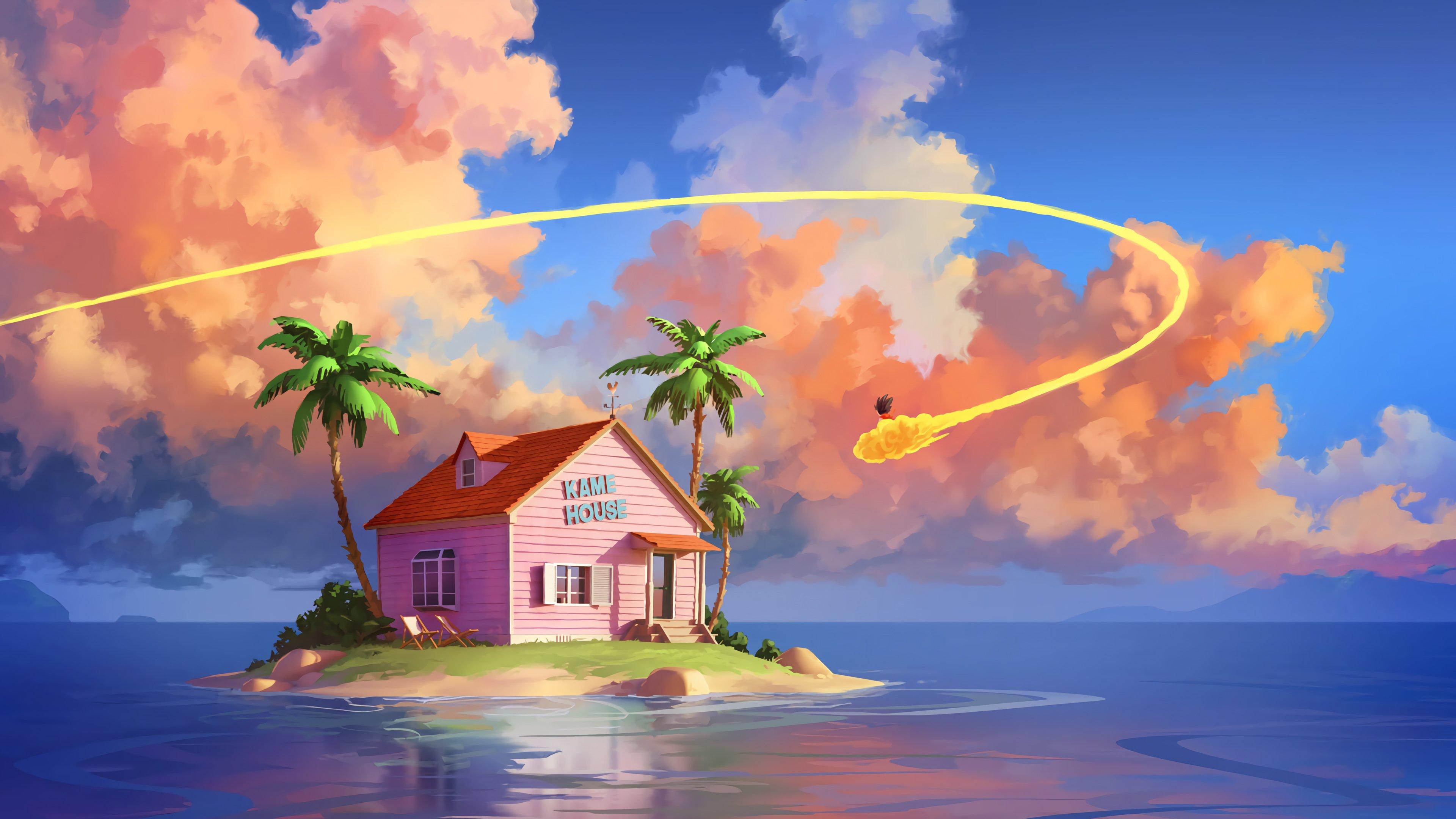 Fondos de pantalla Anime Casa Kame de Dragon Ball