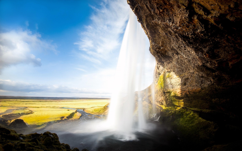 Fondo de pantalla de Cascada Seljalandsfoss Imágenes