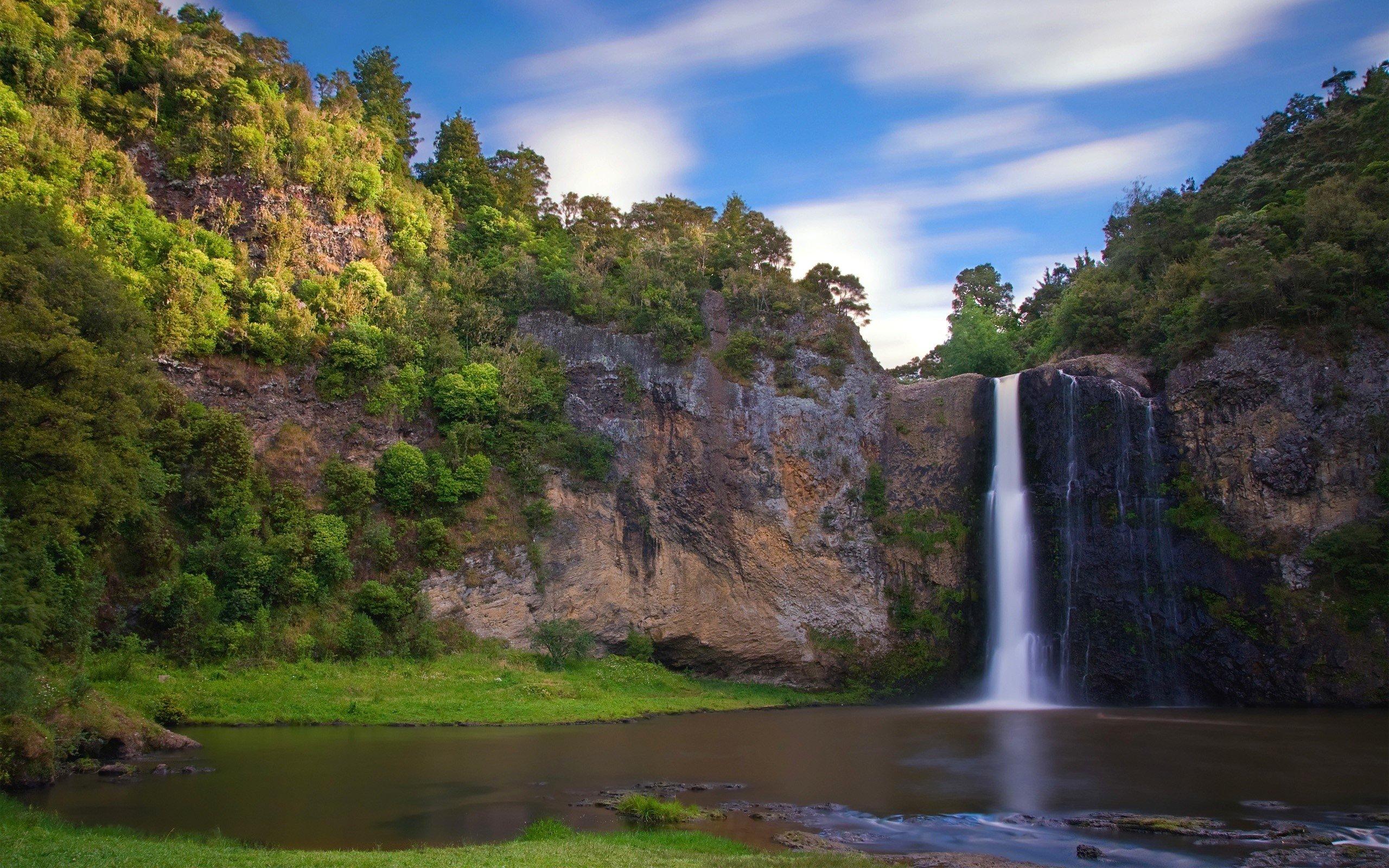Wallpaper Hunua waterfalls
