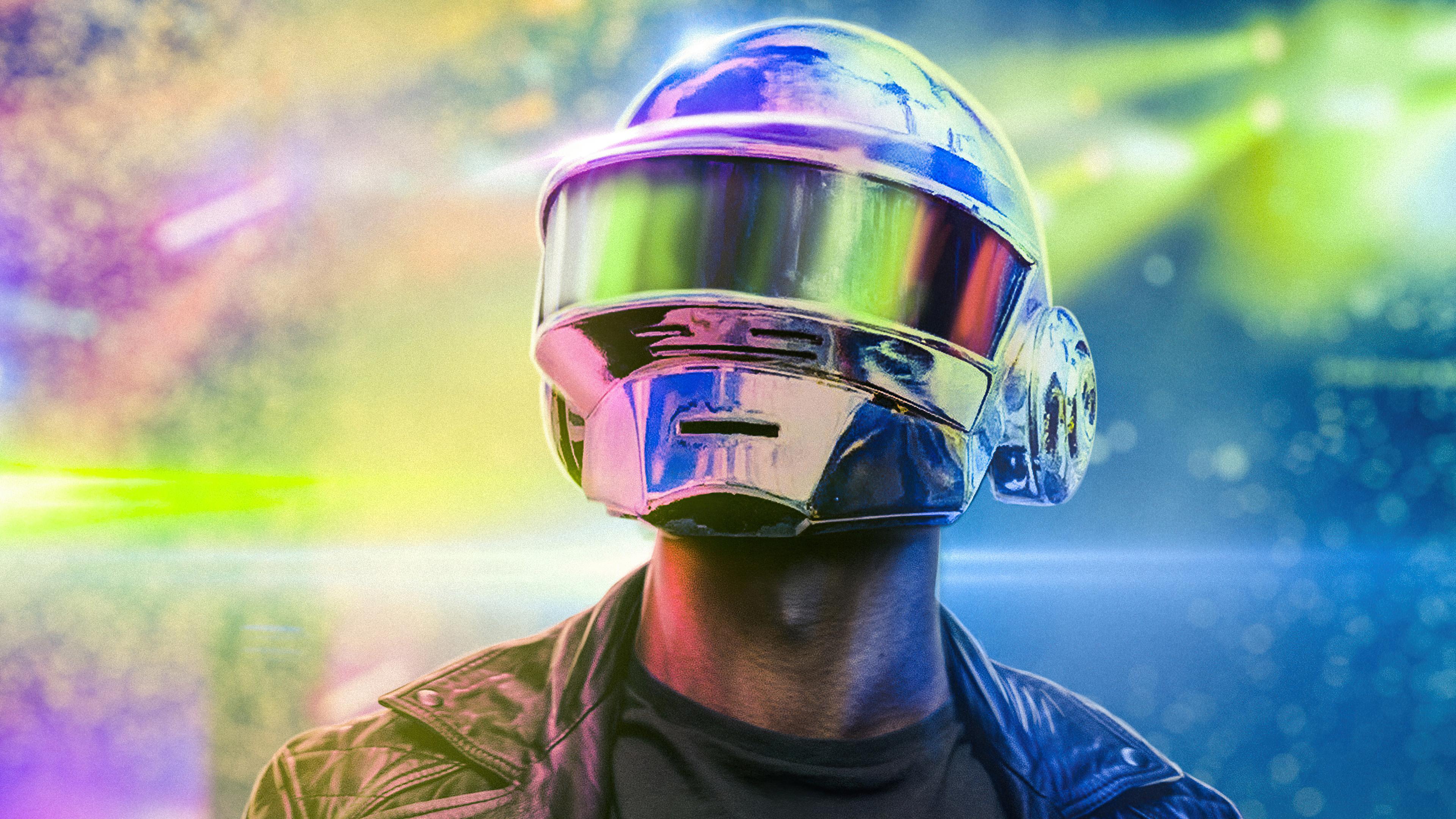 Fondos de pantalla Casco de Daft Punk