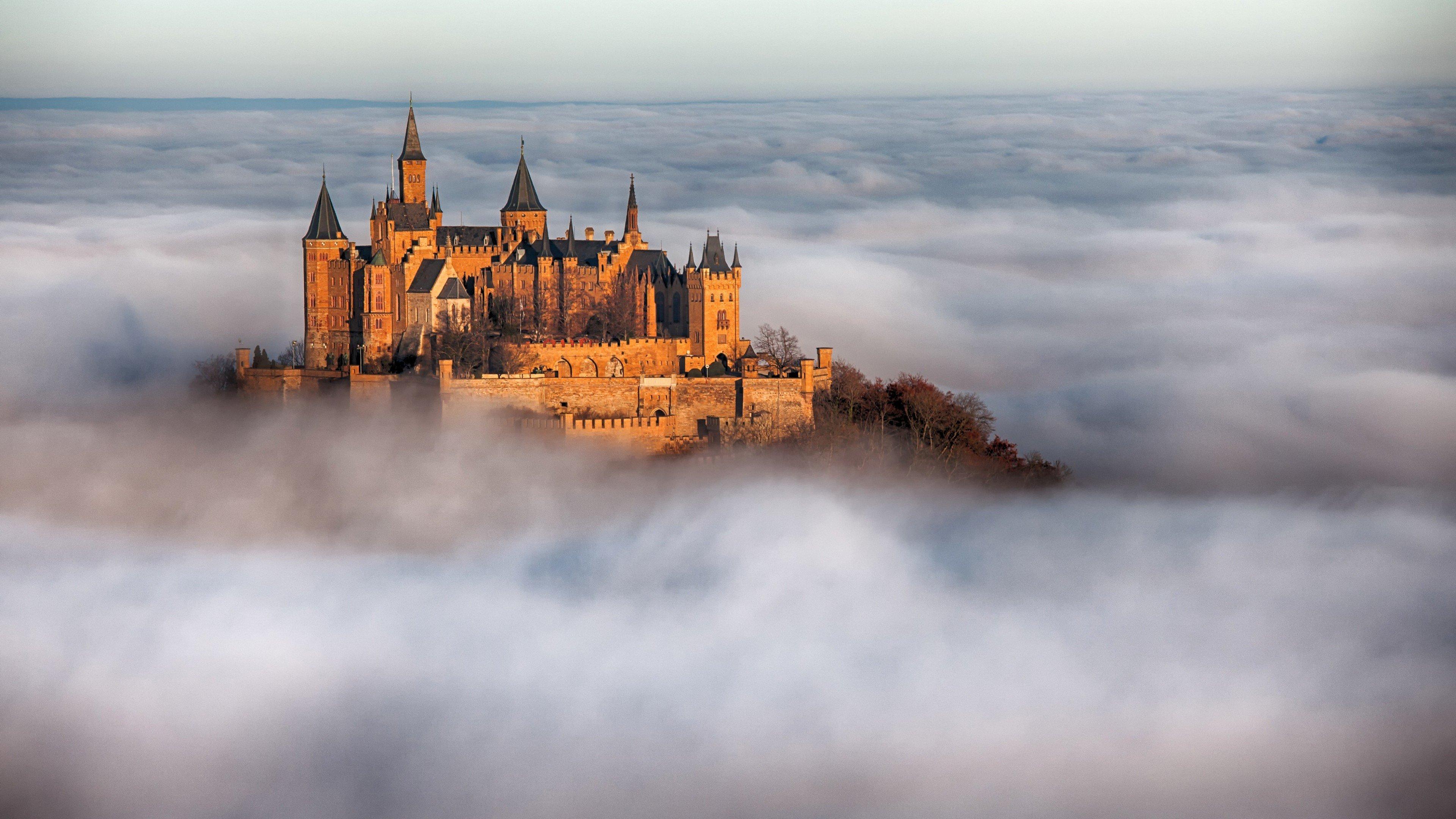 Wallpaper Hohenzollern Castle in Germany