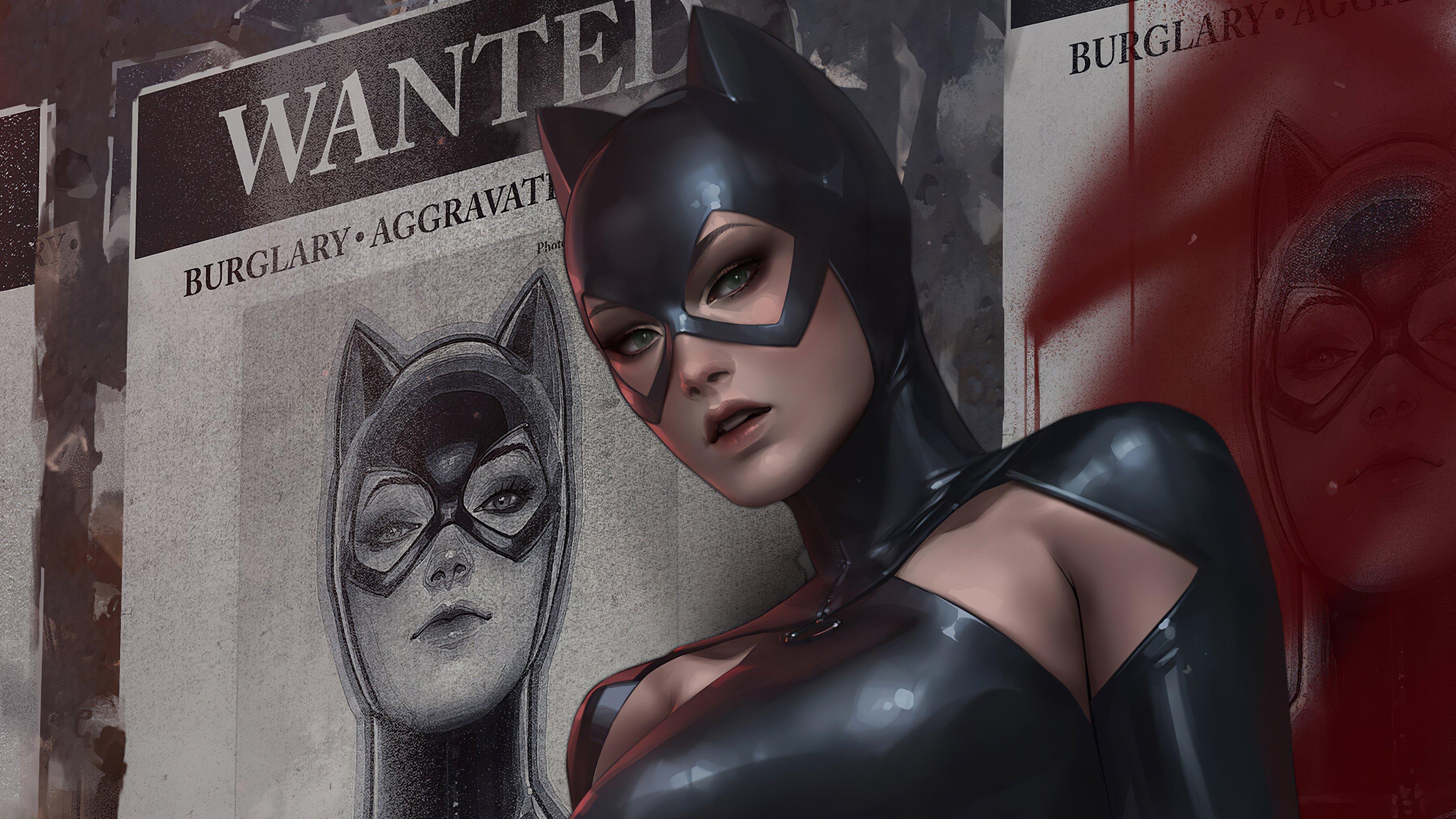 Fondos de pantalla Catwoman Fanart