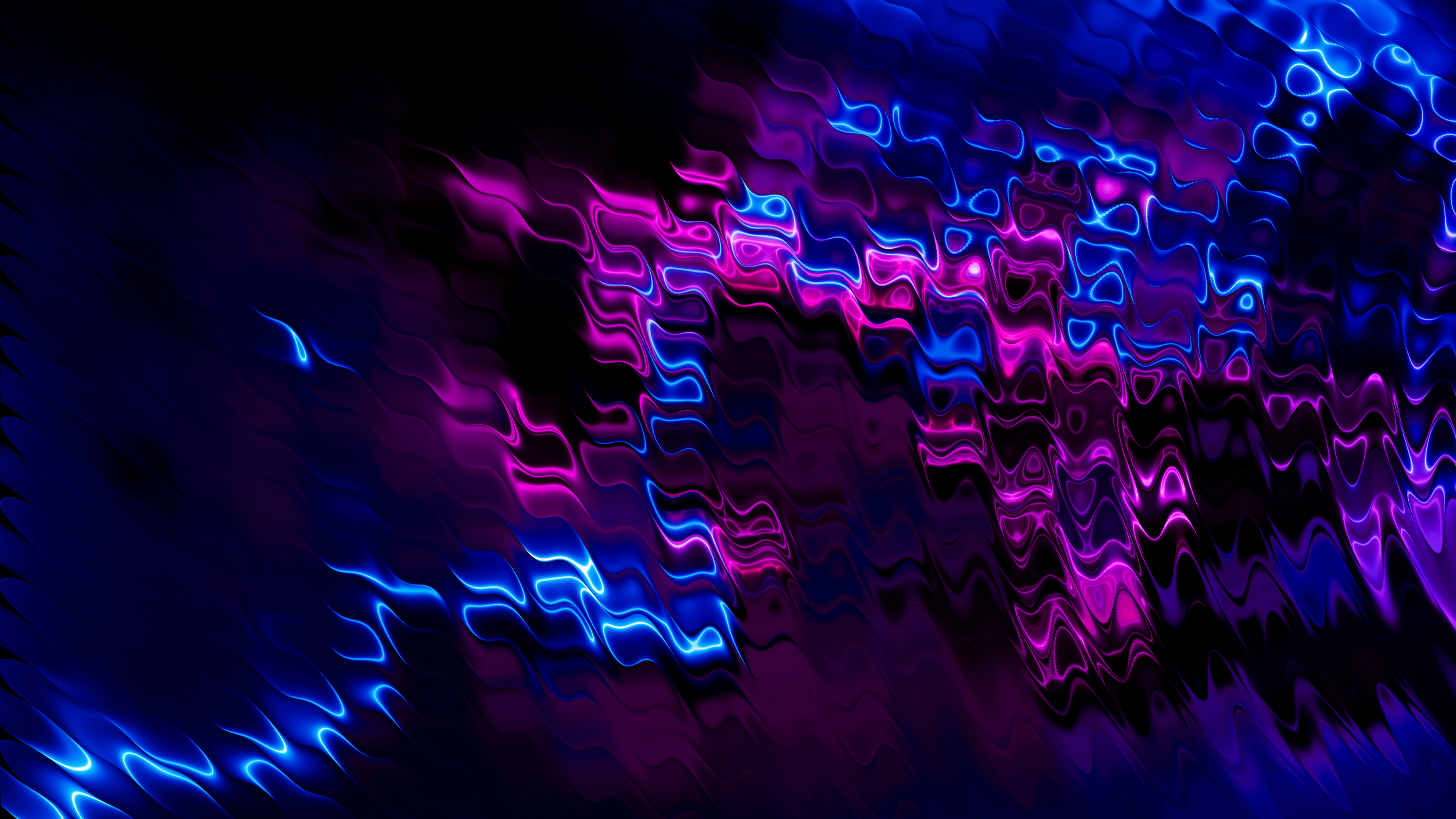 Fondos de pantalla Celdas moradas y azules