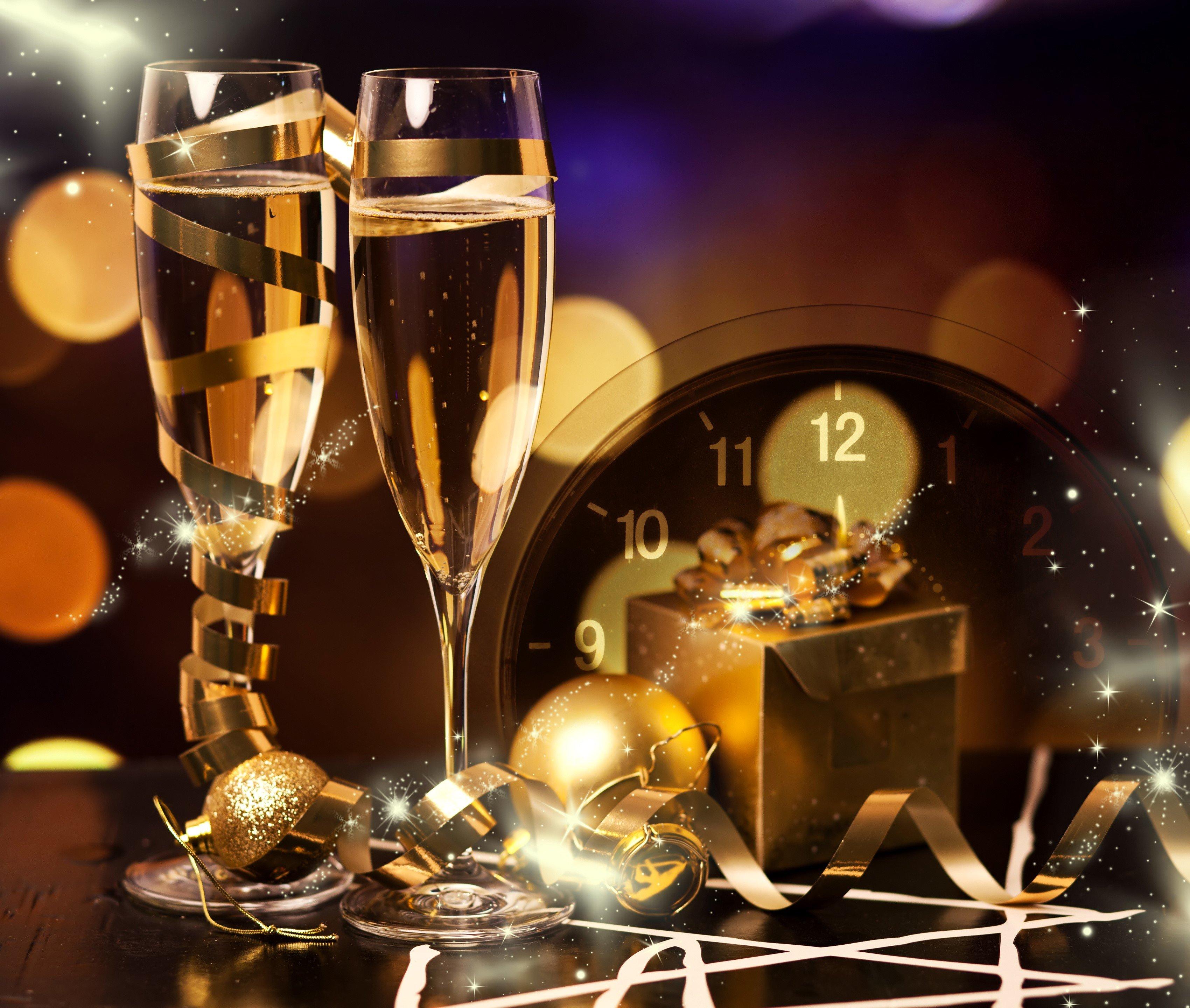 Fondos de pantalla Celebración de Año Nuevo