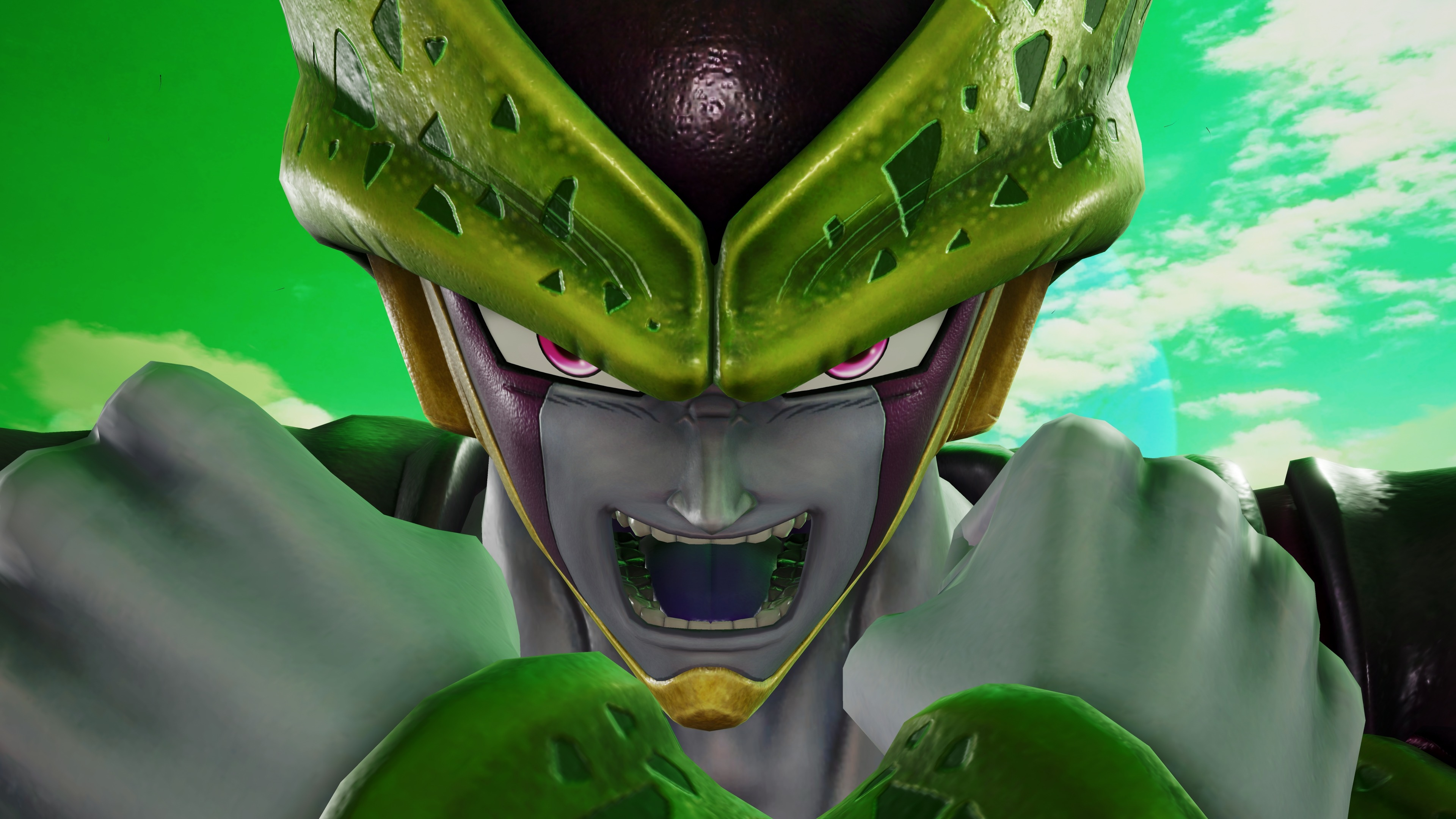 Wallpaper Cell from Dragon Ball in Jump Force