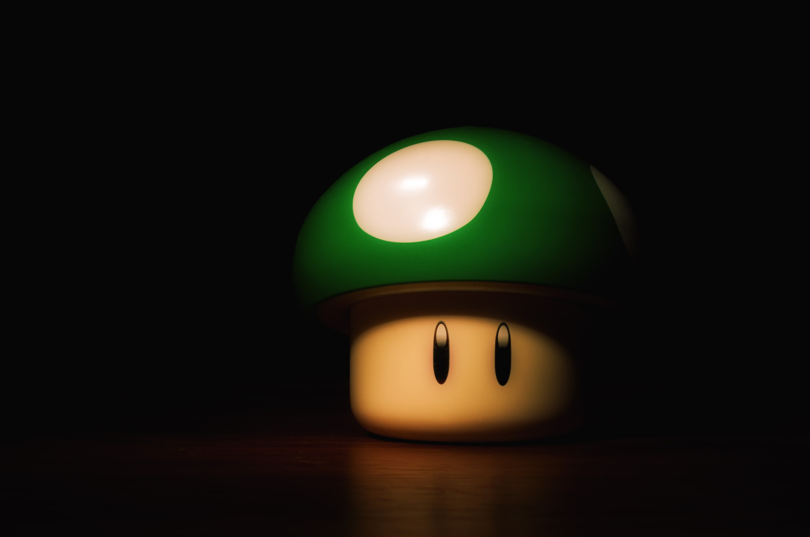 Wallpaper Mushroom 1-UP
