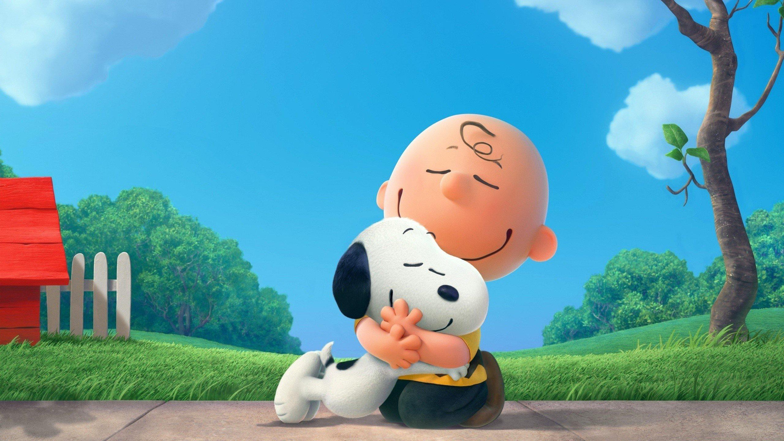 Fondos de pantalla Charlie Brown y Snoopy