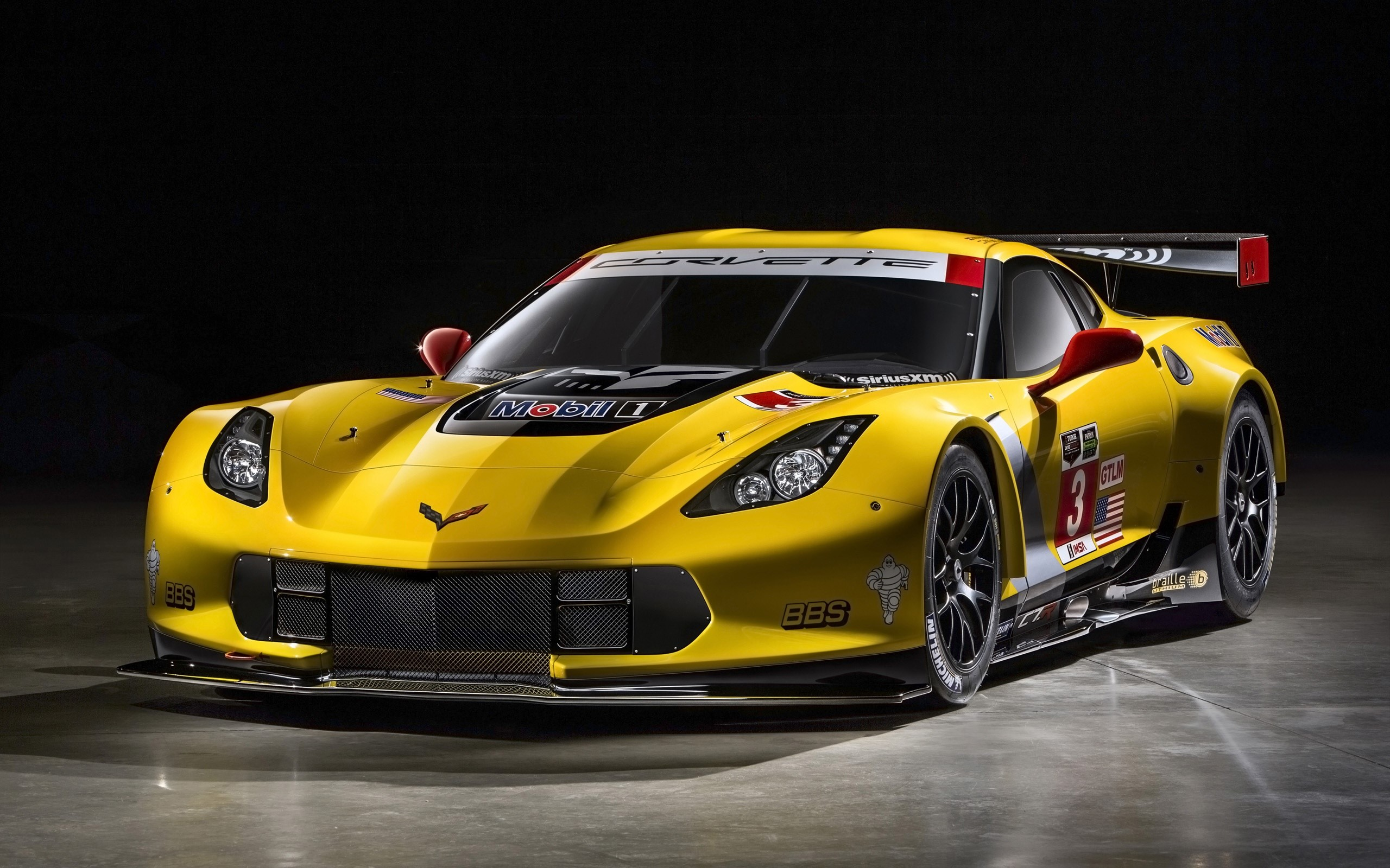 Wallpaper Chevrolet corvette C7 R