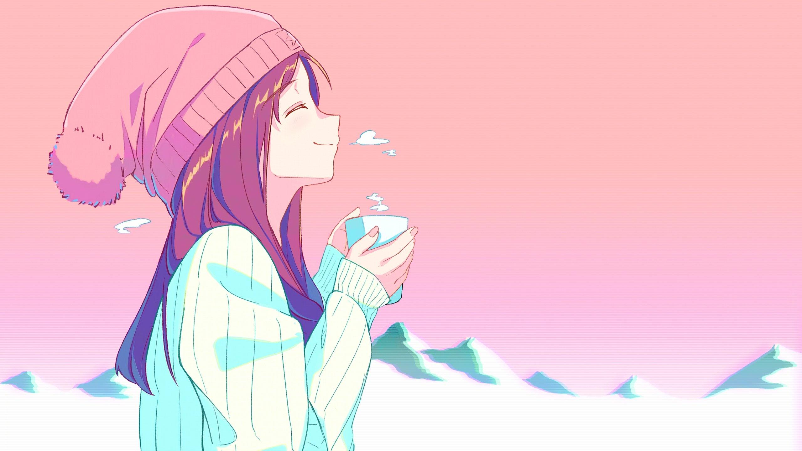 Wallpaper Anime girl