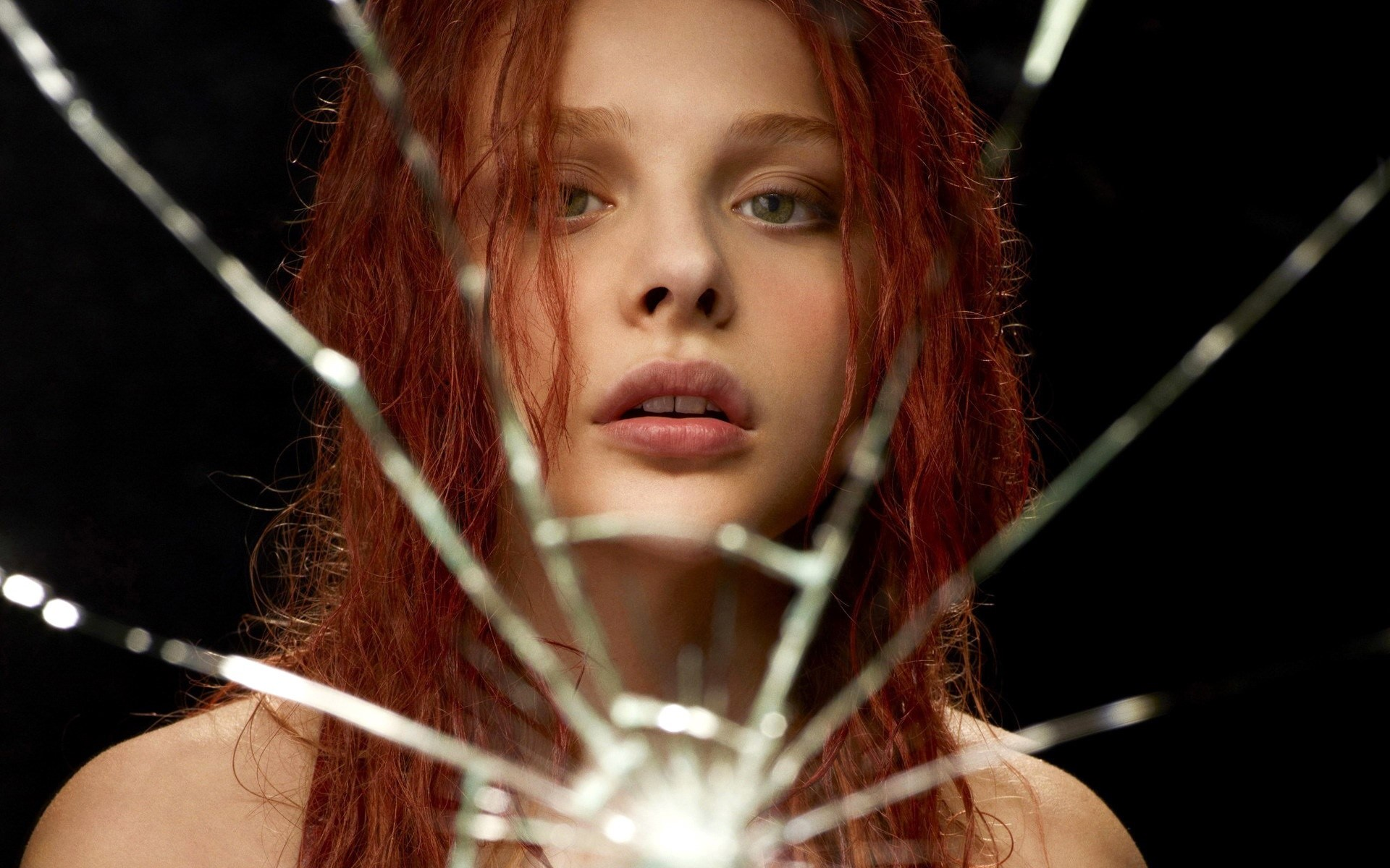 Wallpaper Chloe Moretz as Carrie