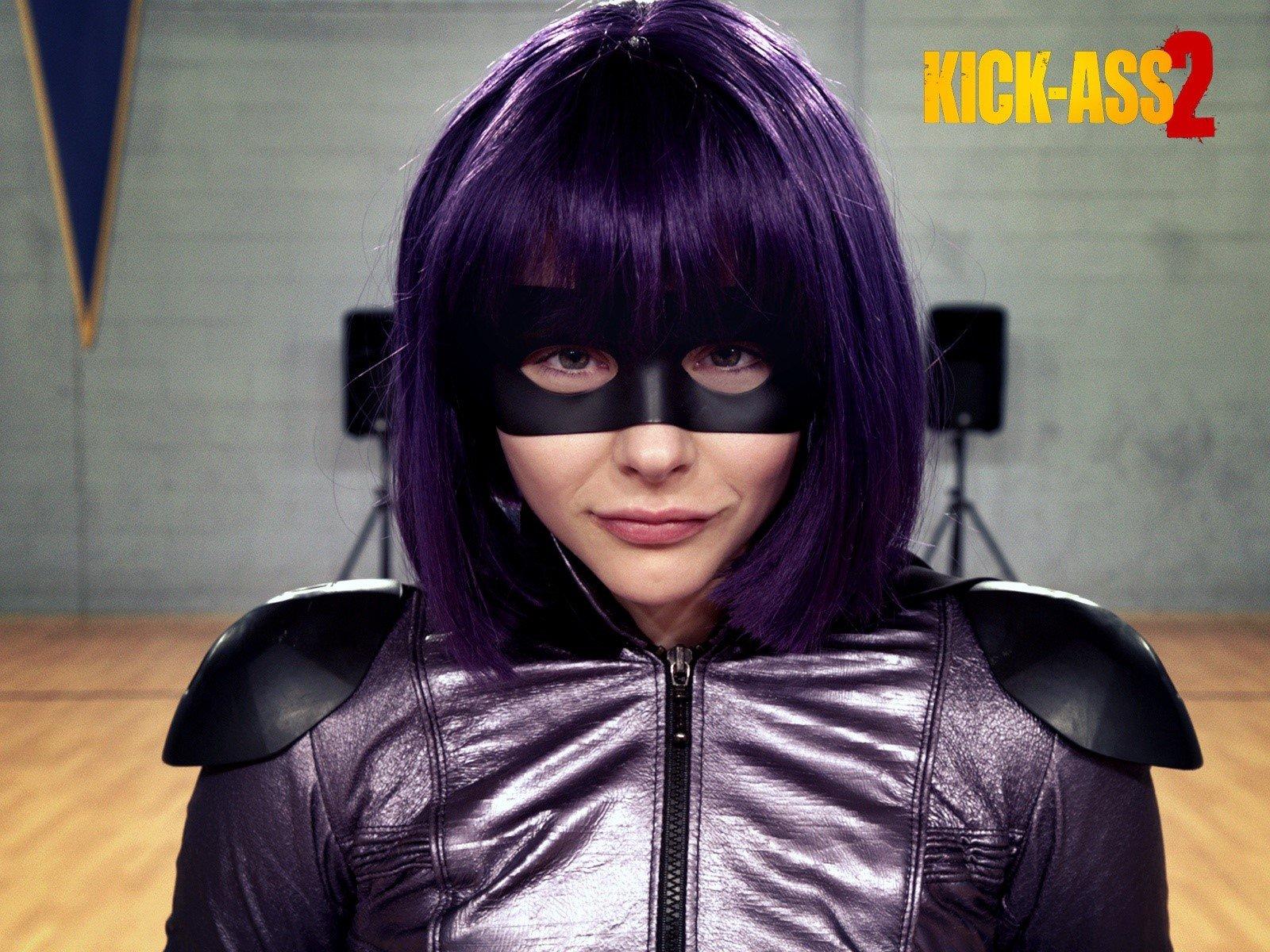 Fondos de pantalla Chloe Moretz como Hit Girl en Kick ass 2
