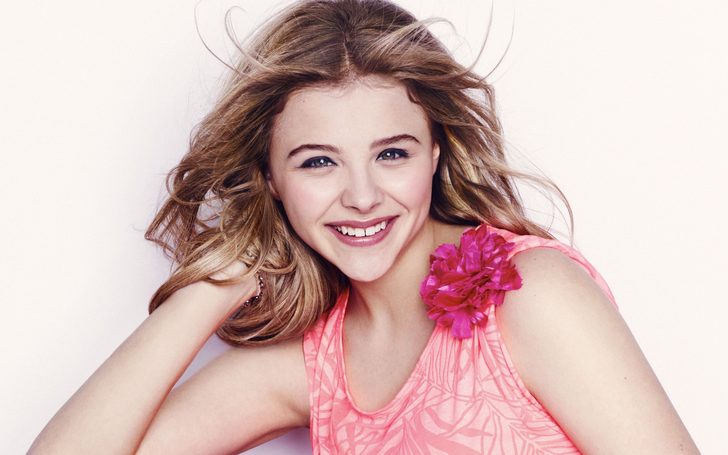 Wallpaper Chloe Moretz for Seventeen
